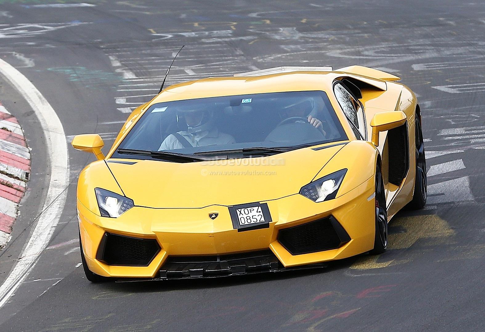 Spyshots: 2015 Lamborghini Aventador SV - autoevolution
