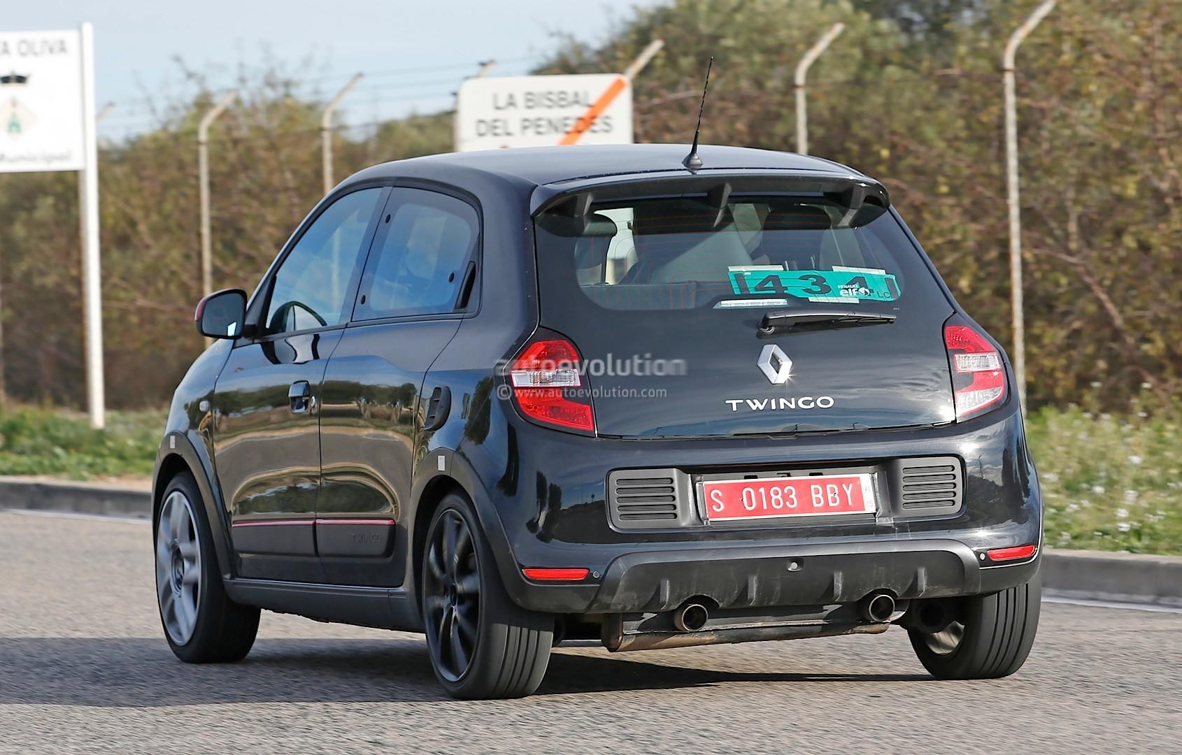 ... Spyshots: 2015 Renault Twingo RS
