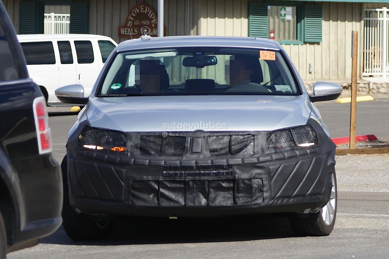 Spyshots: 2015 Volkswagen Jetta Facelift