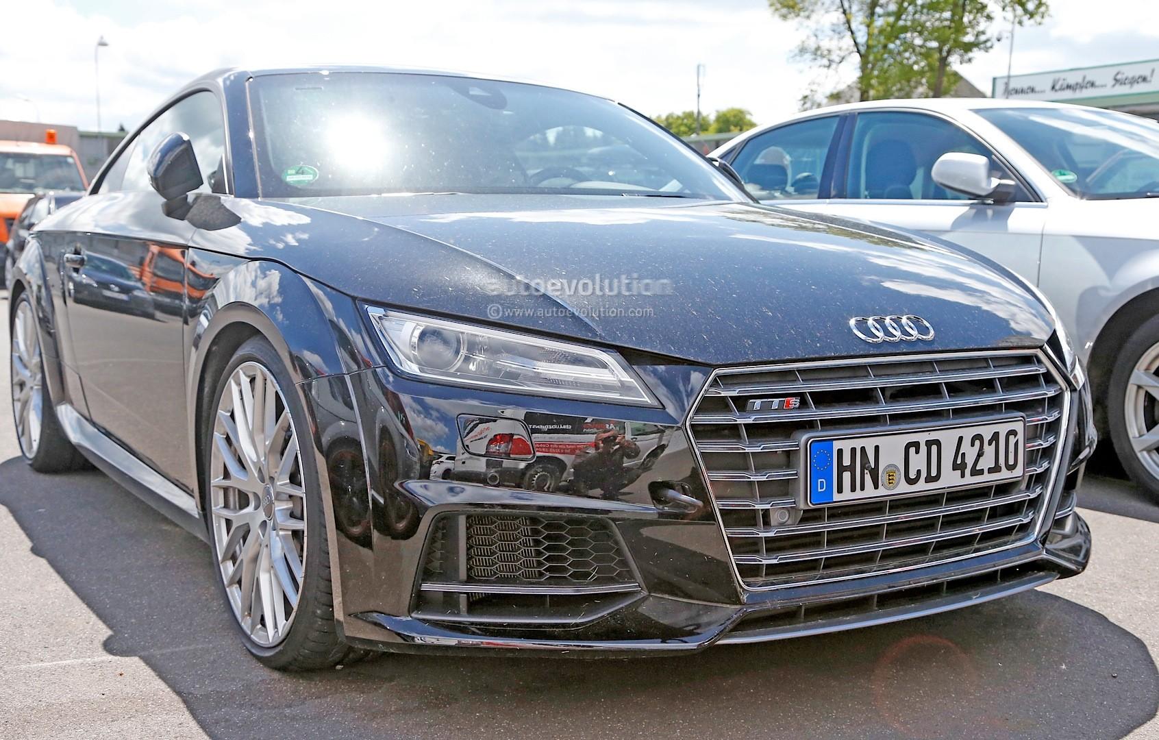 Spyshots: 2016 Audi TT-RS Hides True Performance Potential ... on 2014 audi tt black, 2016 chevrolet colorado black, 2016 audi tt colors, audi a6 black, 2016 ford rs black, 2016 audi q7, 2016 camaro rs black, 2016 lexus ls black,