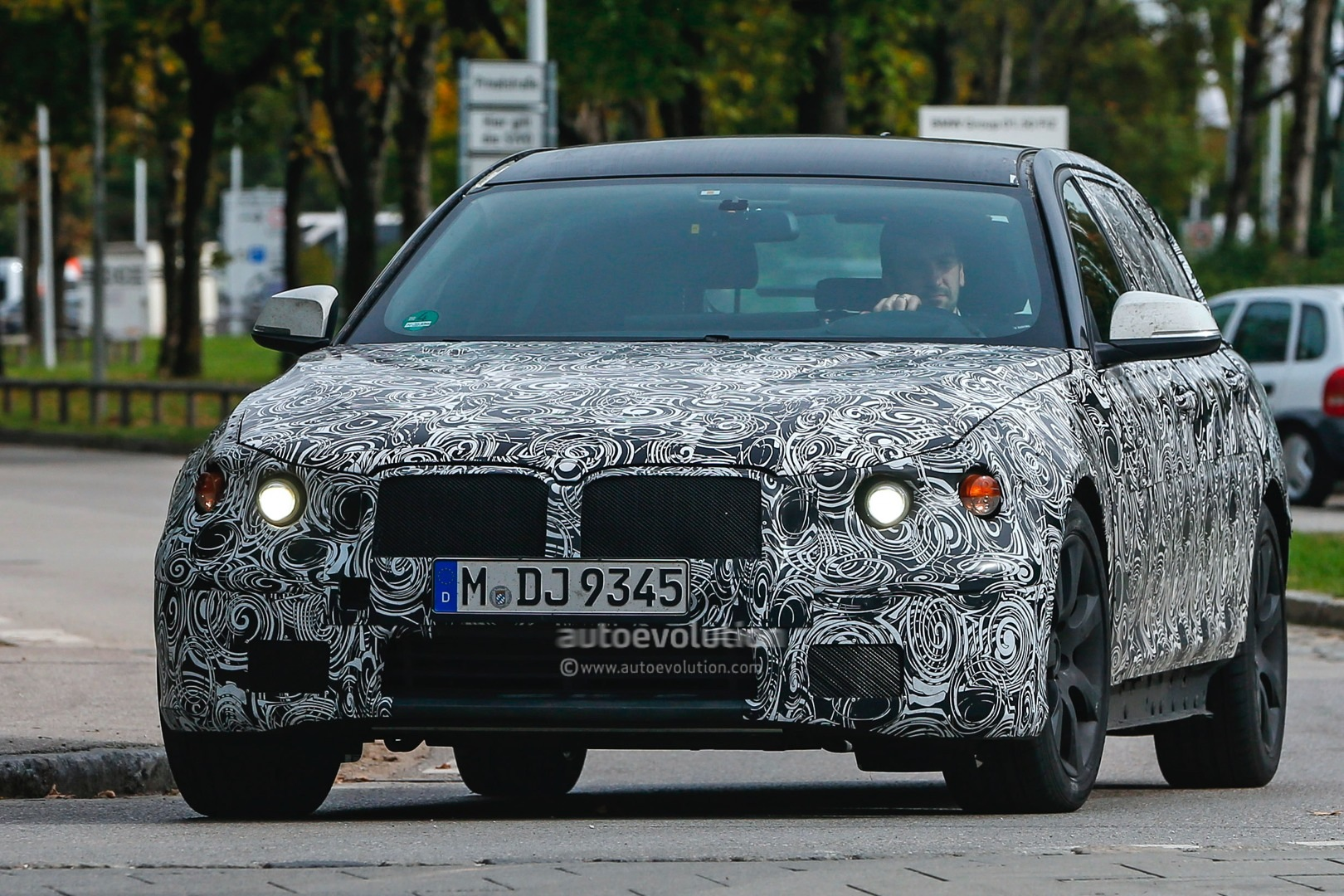 spyshots 2016 bmw 5 series sedan spotted for the first time autoevolution. Black Bedroom Furniture Sets. Home Design Ideas