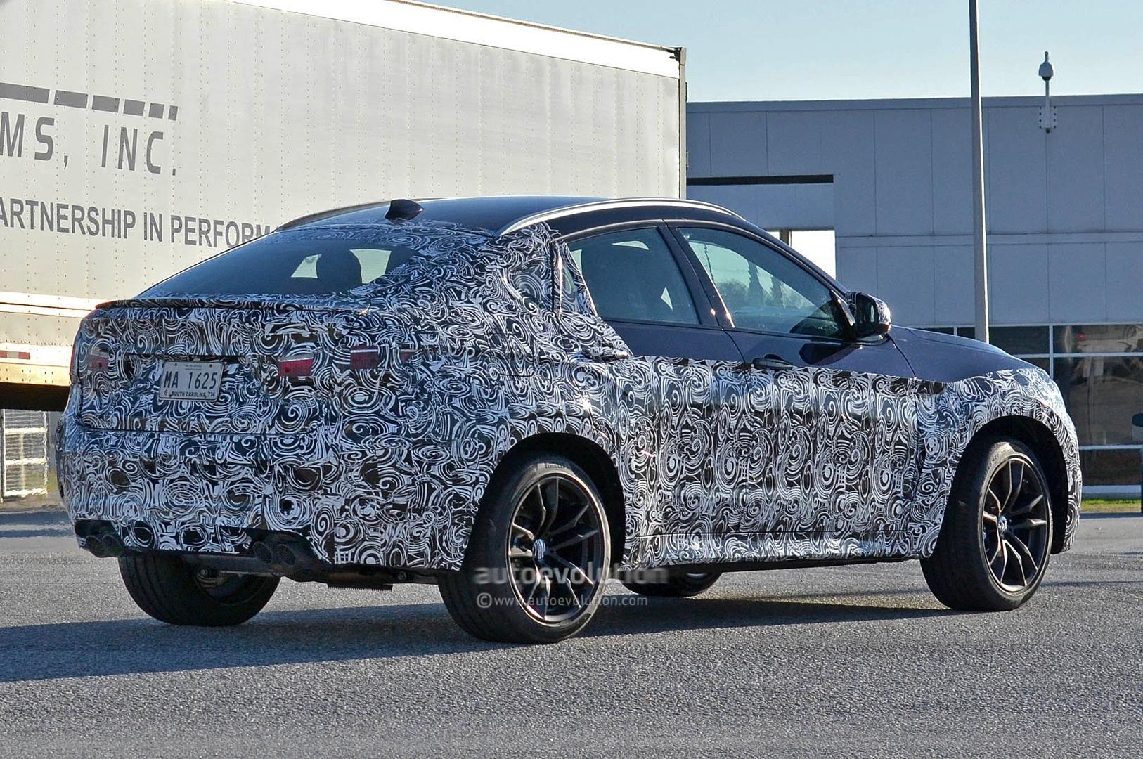 Spyshots 2016 Bmw X6 M Autoevolution