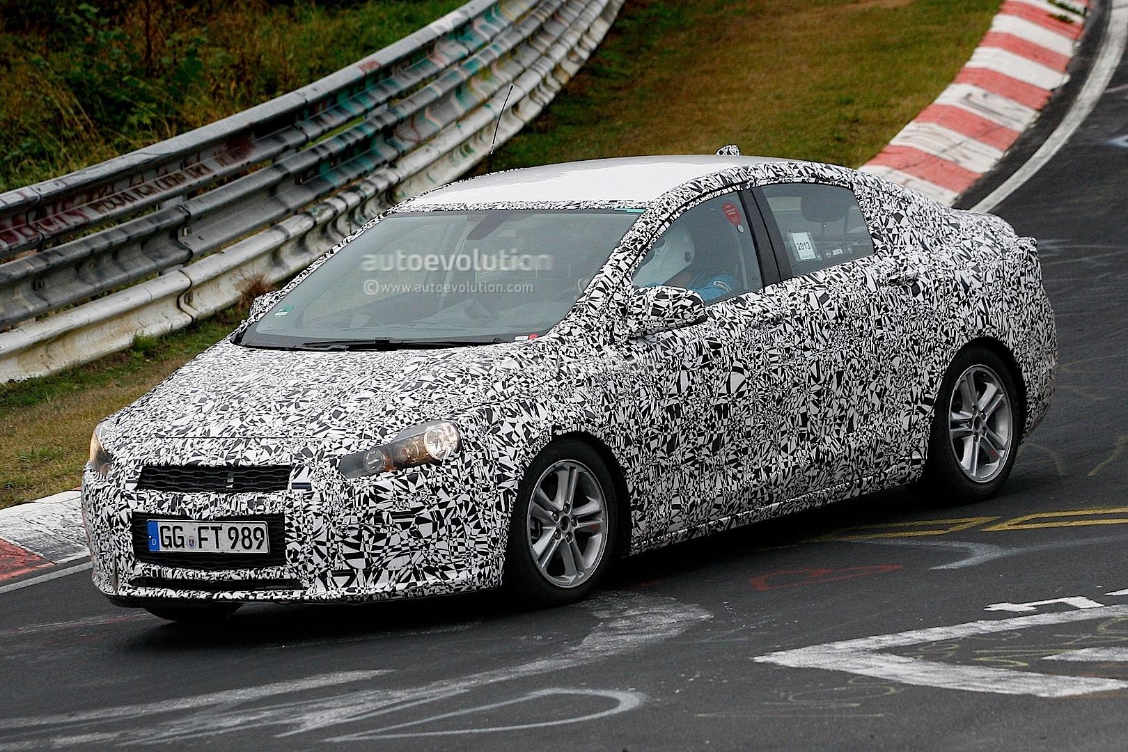 Spyshots: 2016 Chevrolet Cruze Sedan Begins Nurburgring Testing