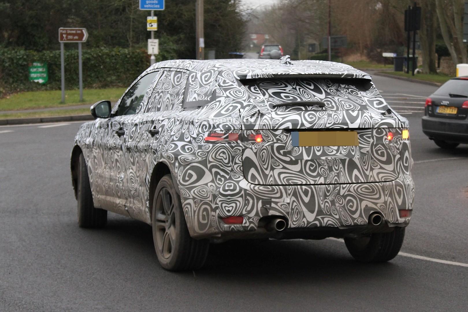 Jaguar F Type R Exhaust >> Spyshots: 2016 Jaguar F-Pace Getting Supercharged 3-Liter V6 - autoevolution