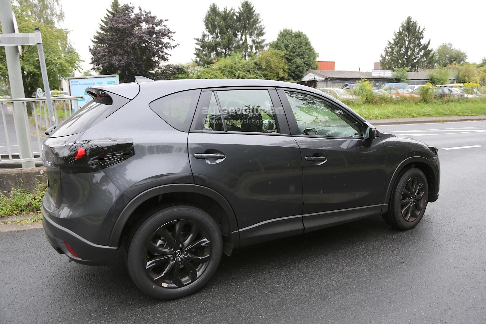 Spyshots 2016 Mazda Cx 5 Facelift Autoevolution