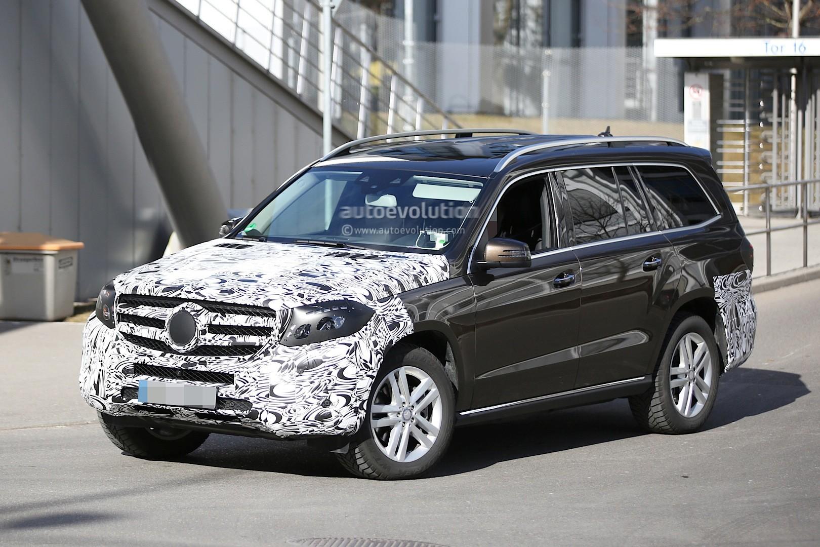 Mercedes Gls 4x4 : spyshots 2016 mercedes gls class testing could get 4 liter v8 autoevolution ~ Medecine-chirurgie-esthetiques.com Avis de Voitures