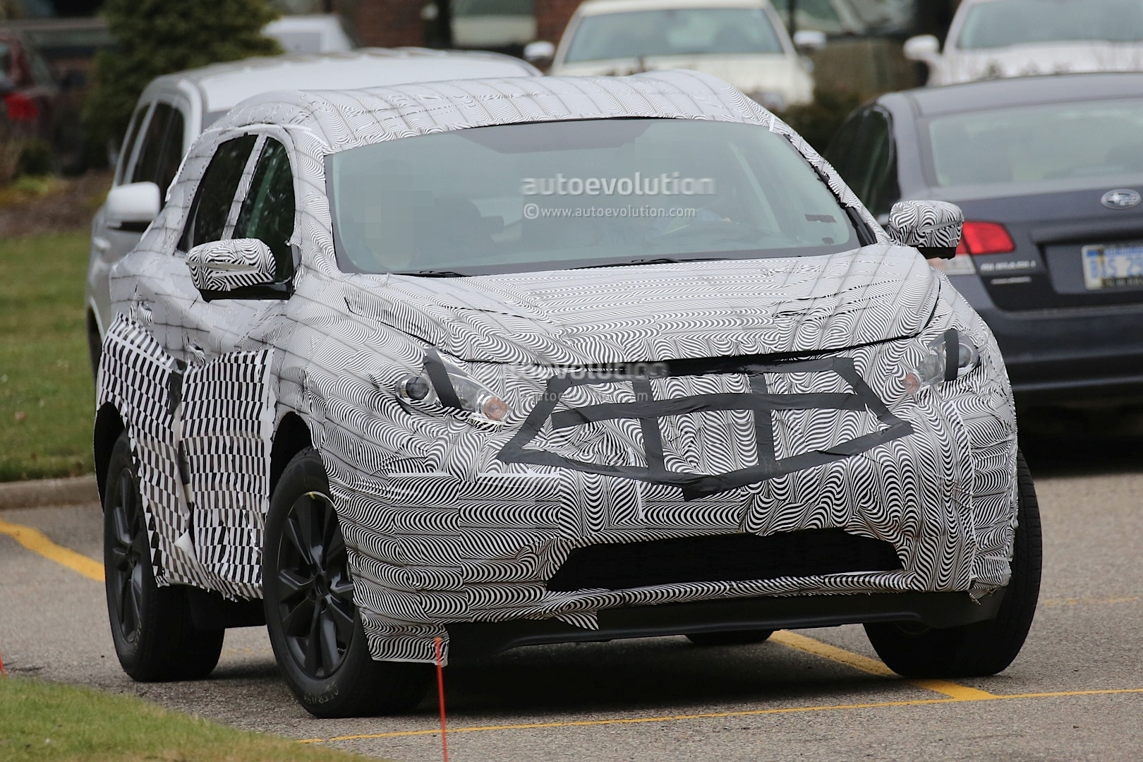 Spyshots: 2016 Nissan Murano First Photos - autoevolution
