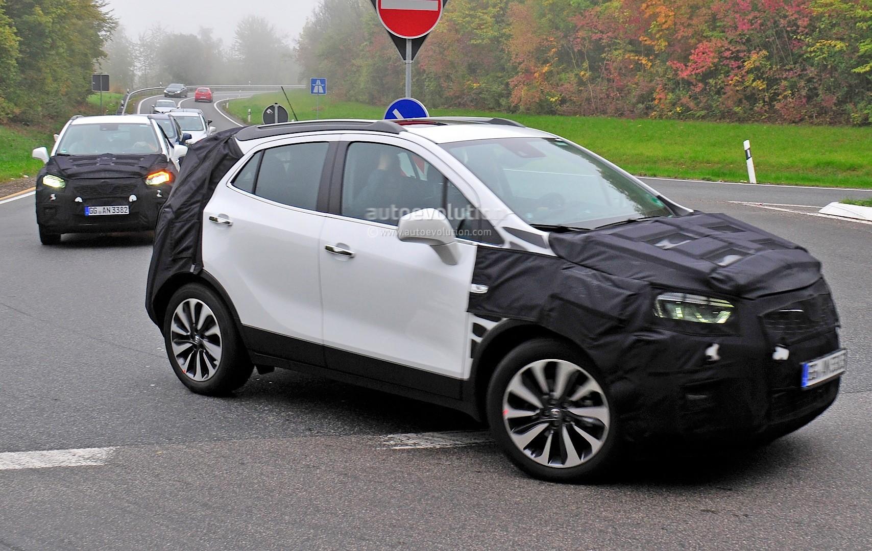 Astonishing Spyshots 2016 Opel Mokka Facelift Getting Led Headlights Wiring 101 Capemaxxcnl