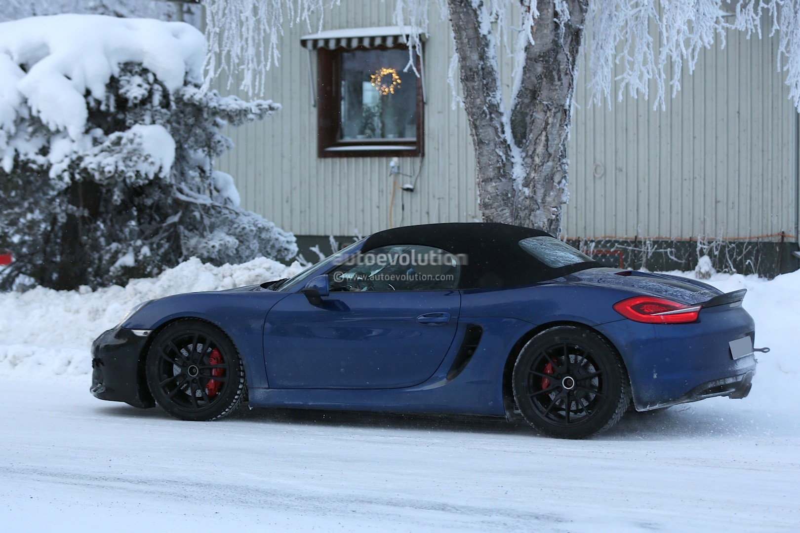 Spyshots 2016 Porsche Boxster Rs Spyder Shows Ducktail