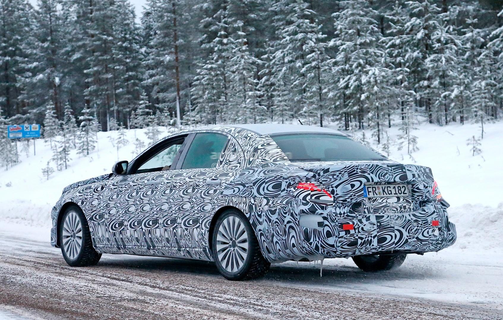 Spyshots 2016 W213 Mercedes E Class Plug In Hybrid First
