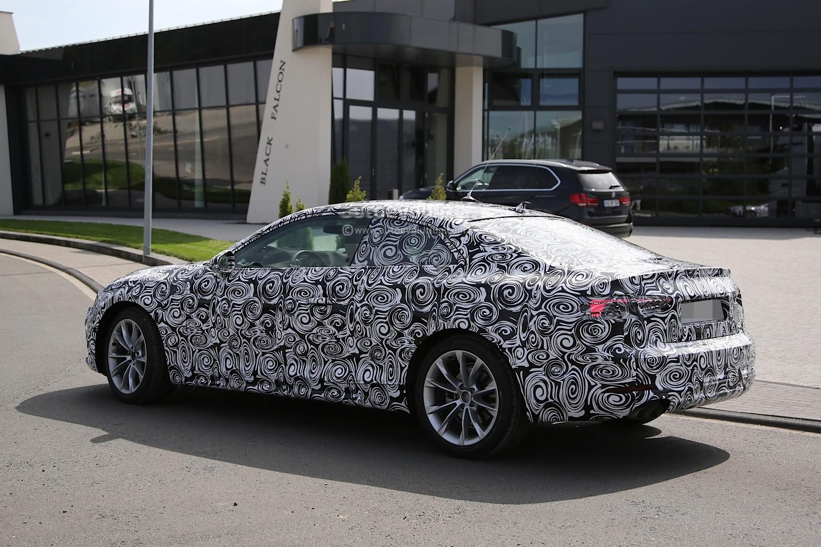 spyshots 2017 audi a5 coupe begins nurburgring testing autoevolution. Black Bedroom Furniture Sets. Home Design Ideas