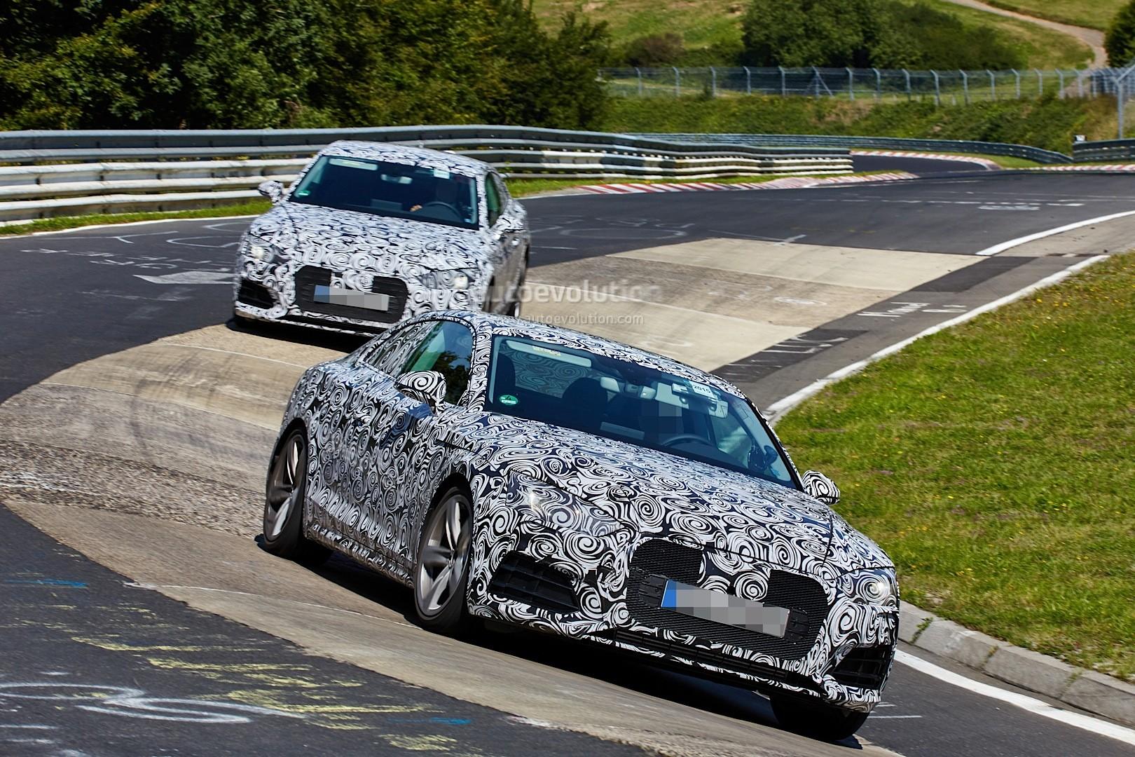 Spyshots: 2017 Audi A5 / S5 Interior Revealed - autoevolution