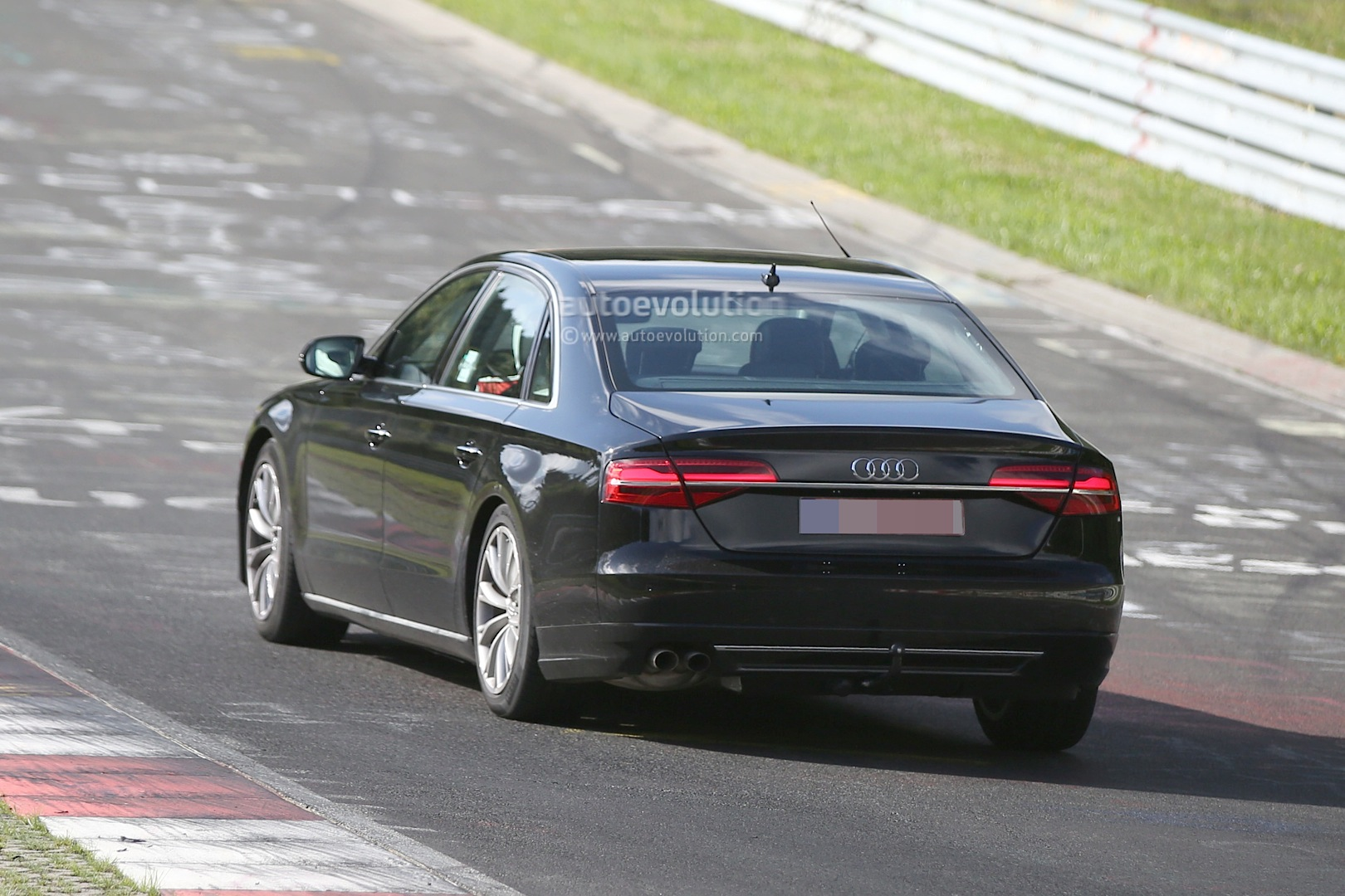 2018 audi w12.  w12 2017 audi a8 test mule at the nurburgring and 2018 audi w12