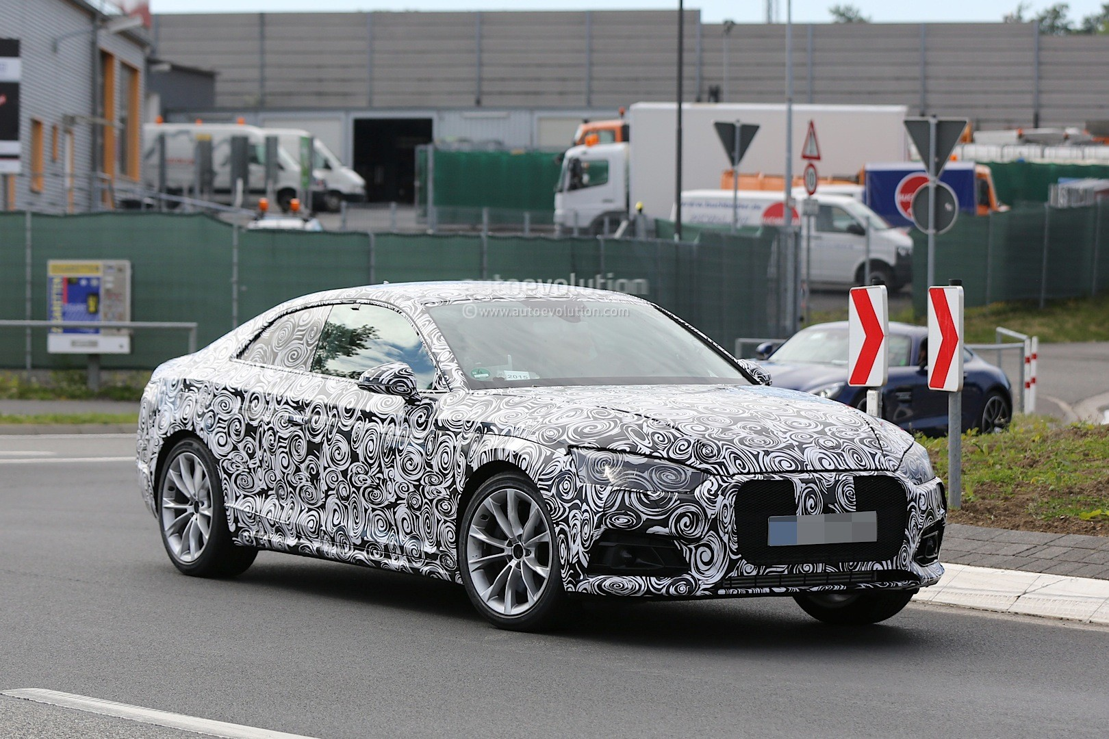 Spyshots: 2017 Audi S5 Performance Coupe First Photos - autoevolution