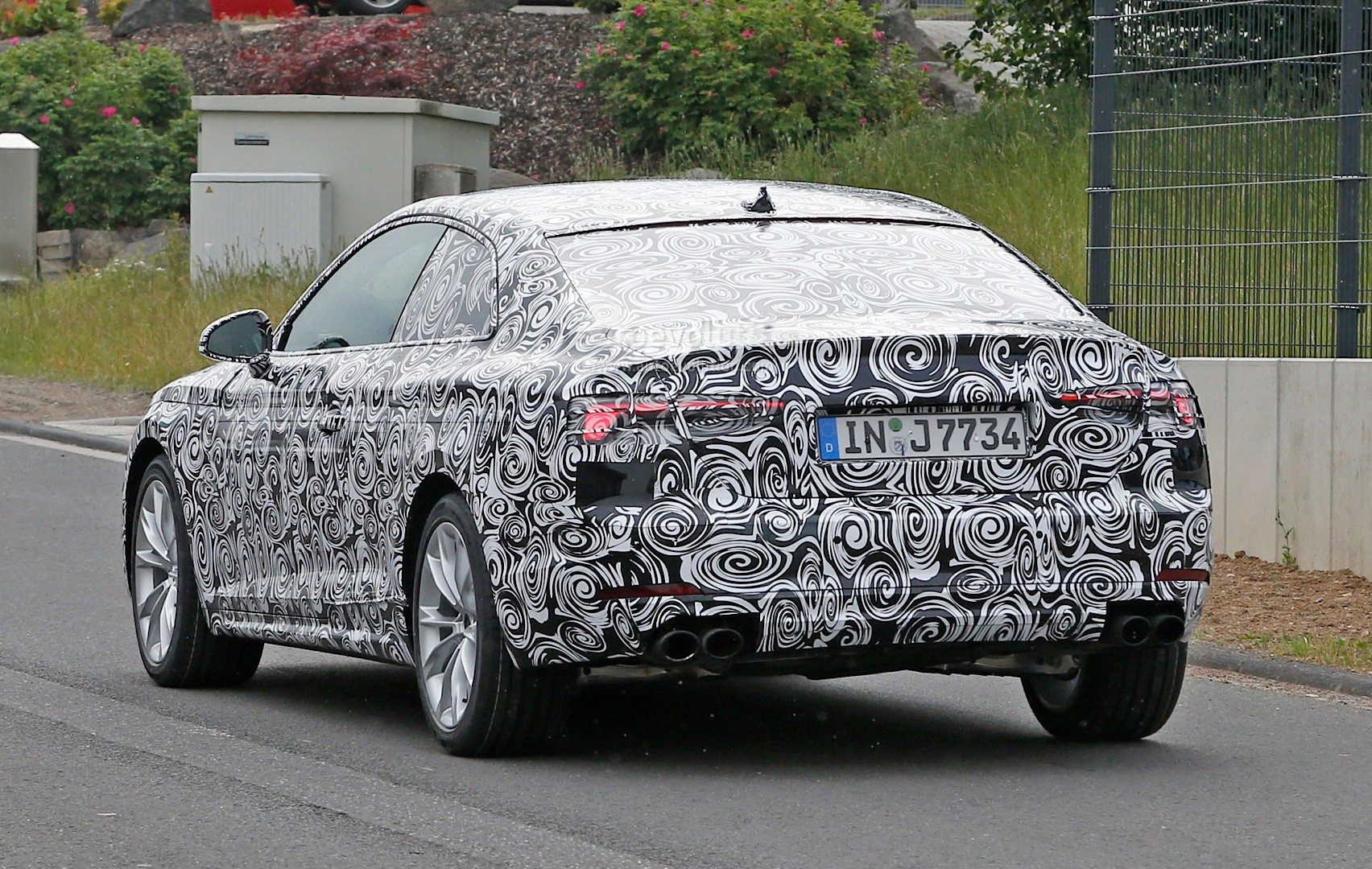 Spyshots: 2017 Audi S5 Performance Coupe First Photos ...