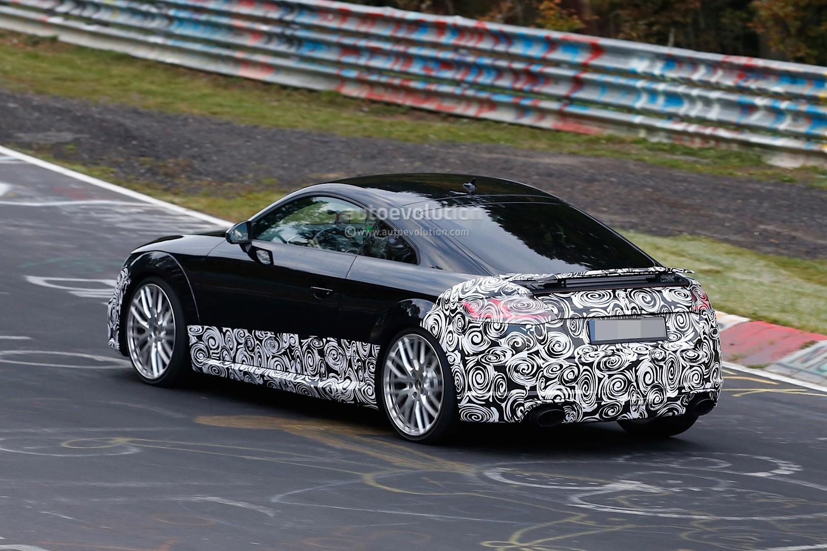 Spyshots: 2017 Audi TT-RS Production Model Seen for the ...