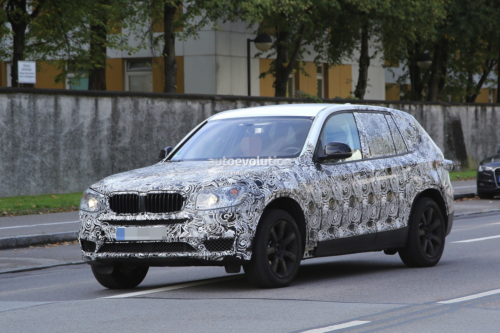 spyshots 2017 bmw x3 rolls into view on public roads for the first time autoevolution. Black Bedroom Furniture Sets. Home Design Ideas