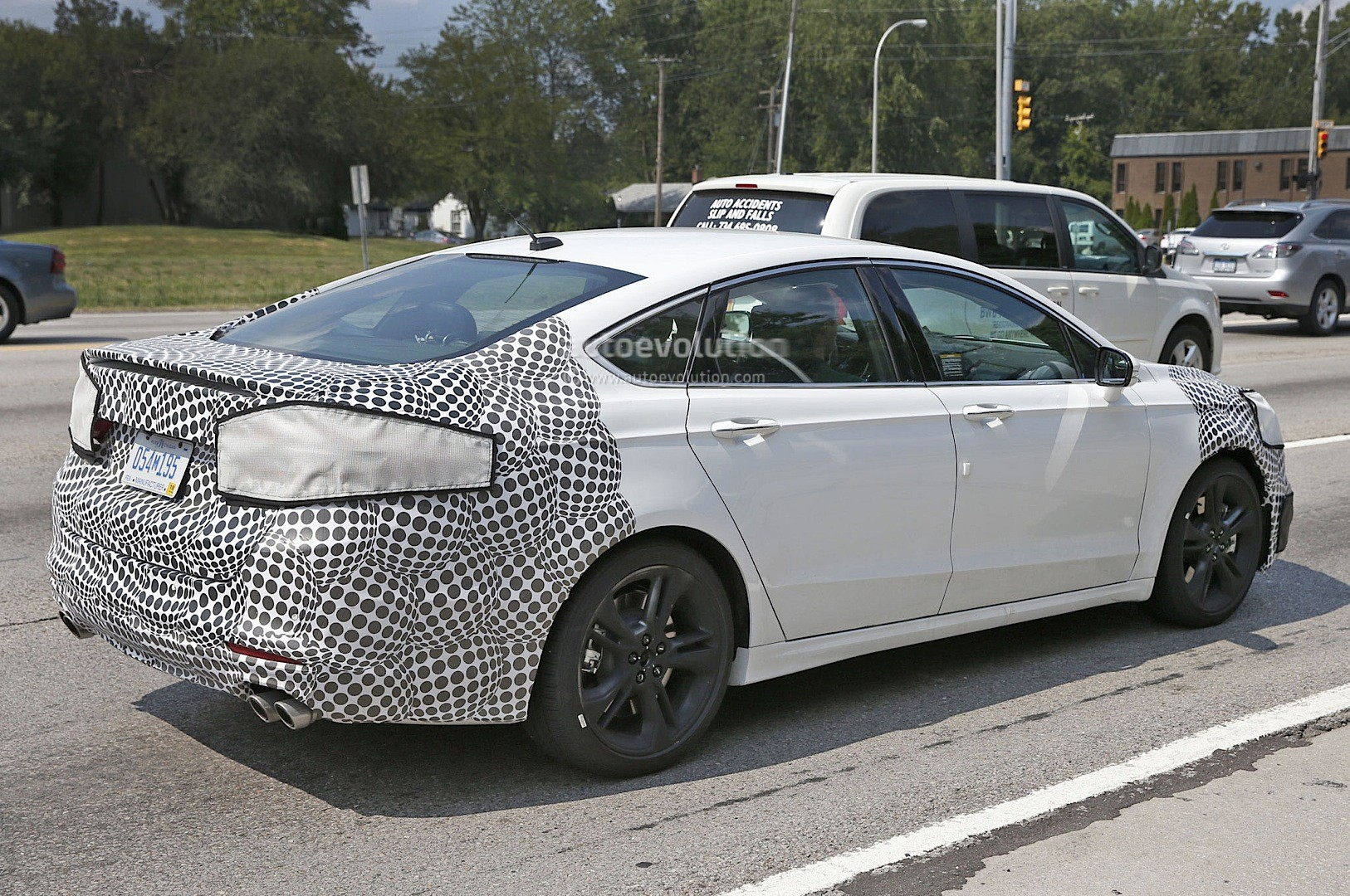 2017 ford fusion mondeo st