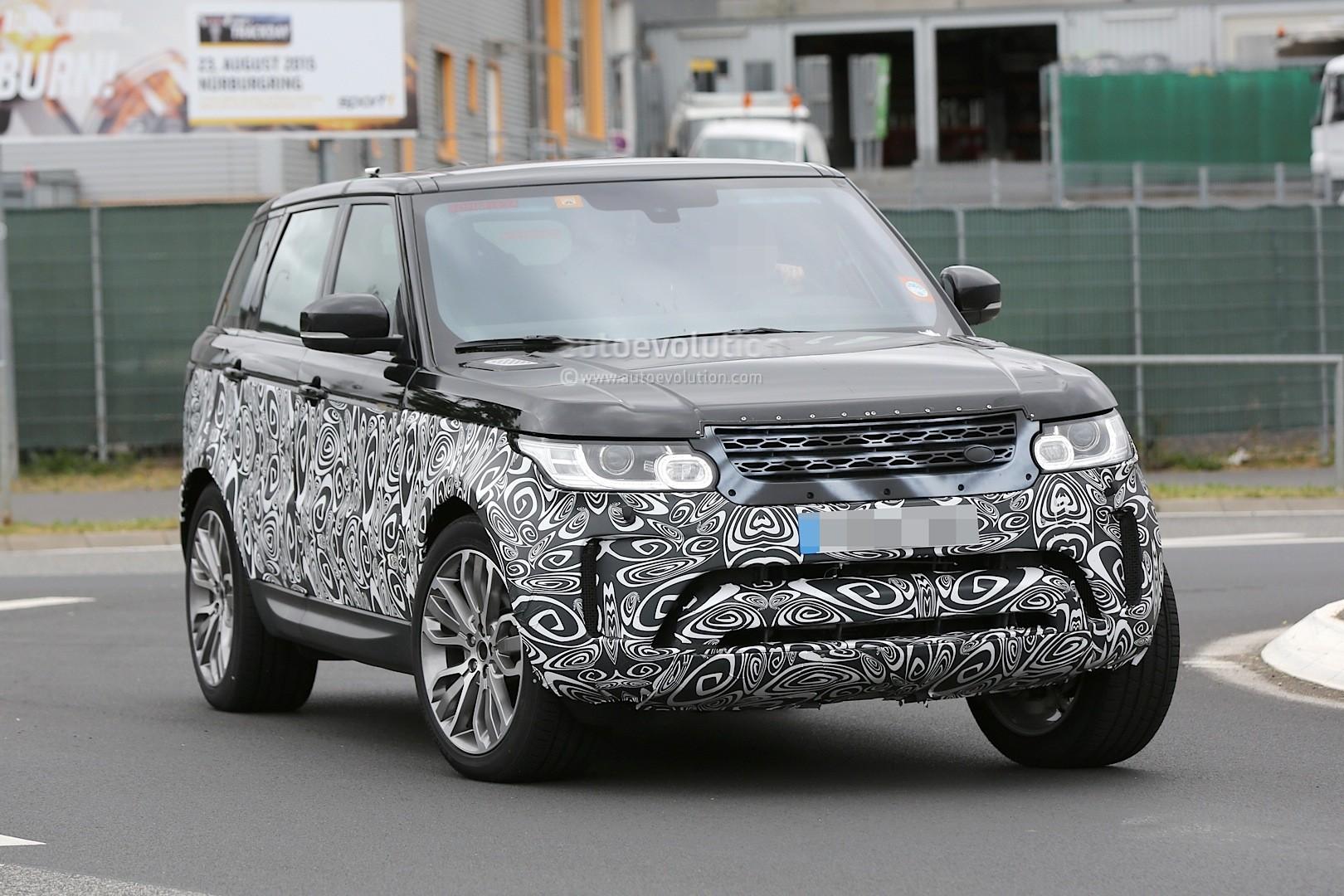 Spyshots: 2017 Range Rover Sport First Photos - autoevolution
