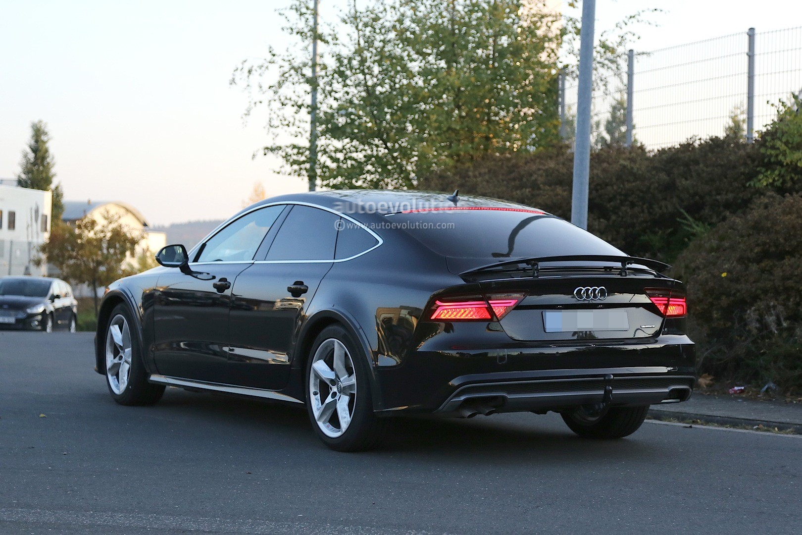 Spyshots: 2018 Audi A7 Chassis Testing Mule Seen for the First Time ...