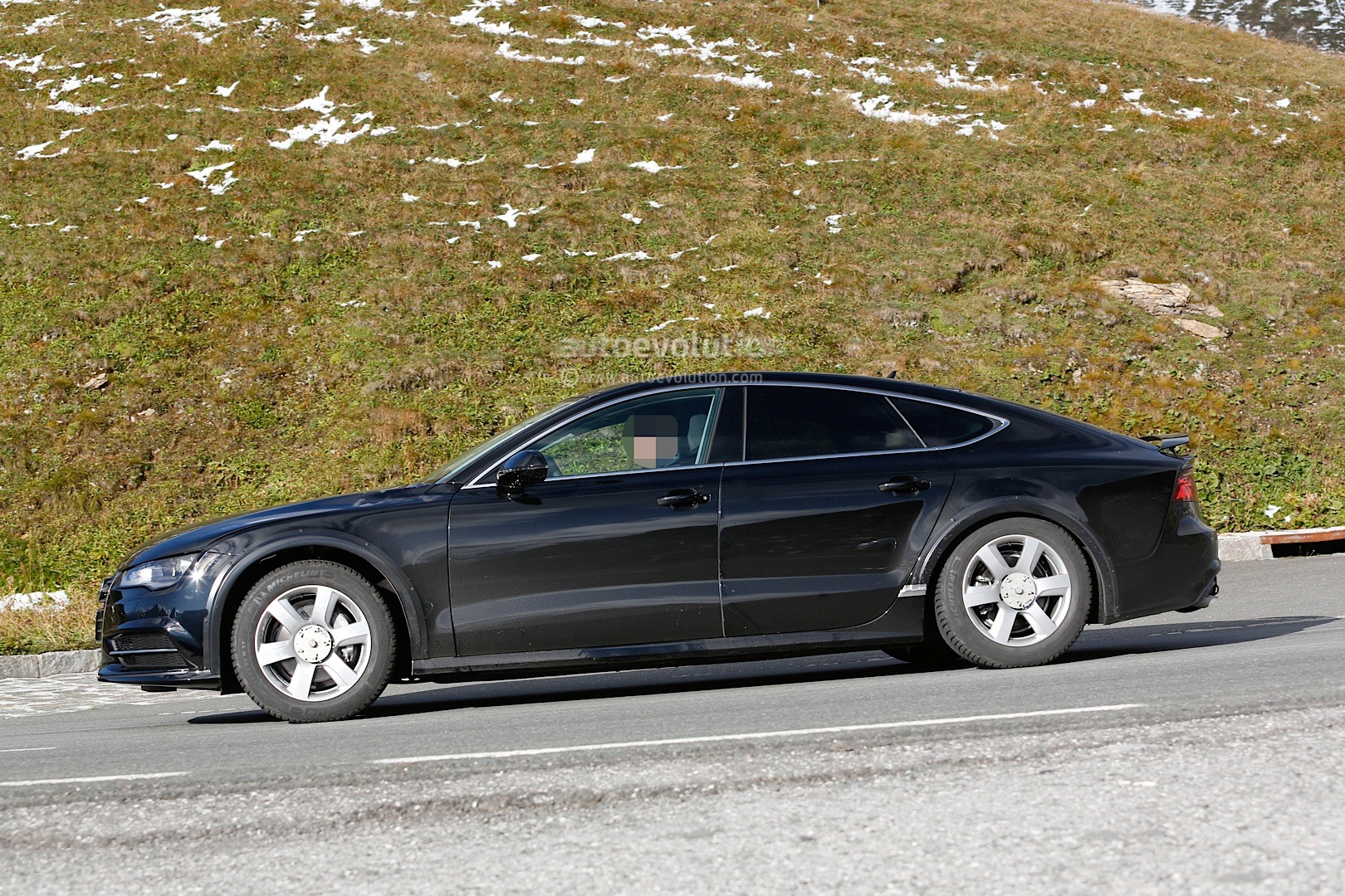 Spyshots 2018 Audi A7 Chassis Testing Mule Seen For The
