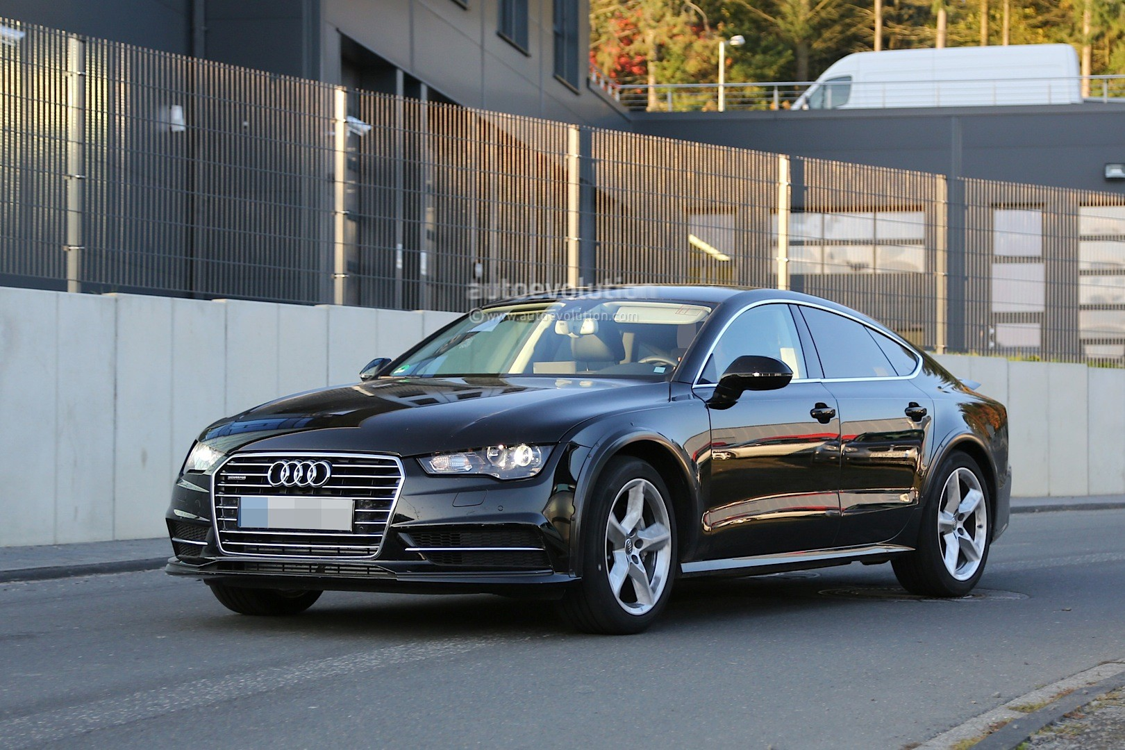Spyshots: 2018 Audi A7 Chassis Testing Mule Seen For The First Time
