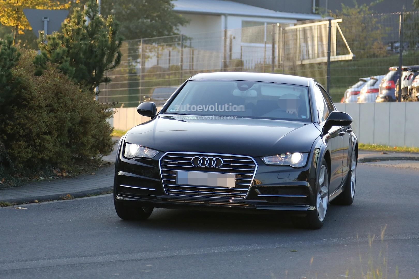 2018 Audi A7 Test Mule Spy Photos