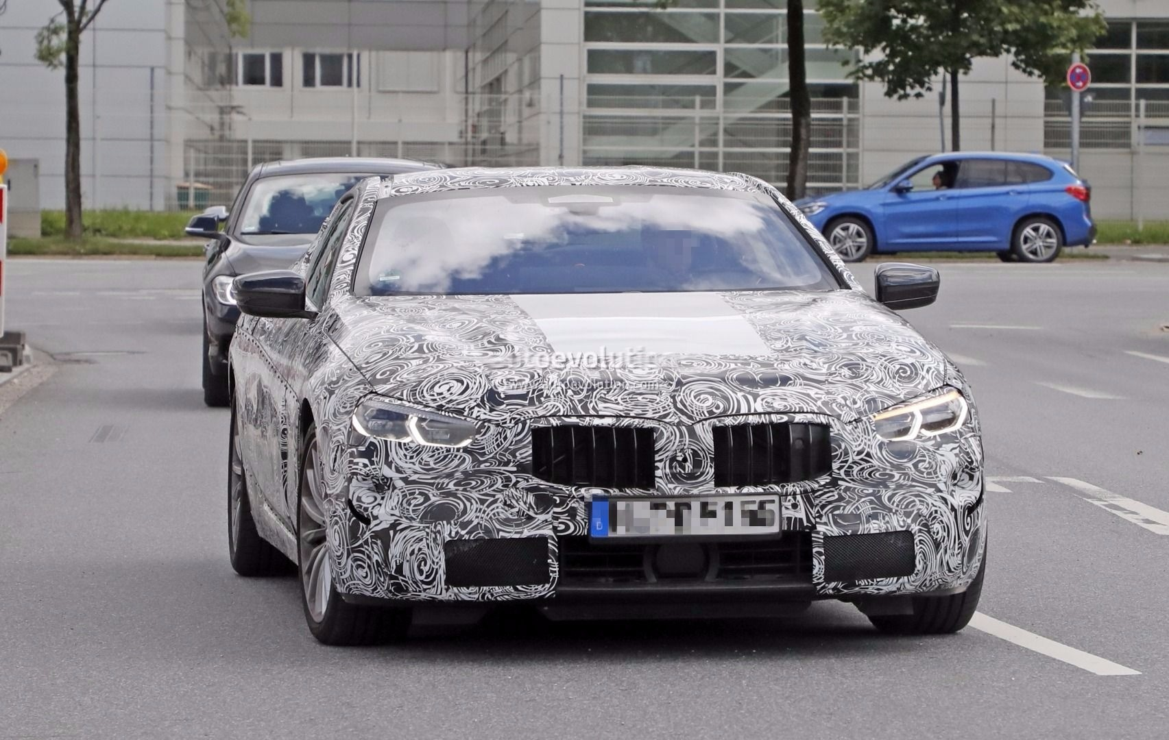 Spyshots 2018 Bmw 8 Series Reveals Production Lights