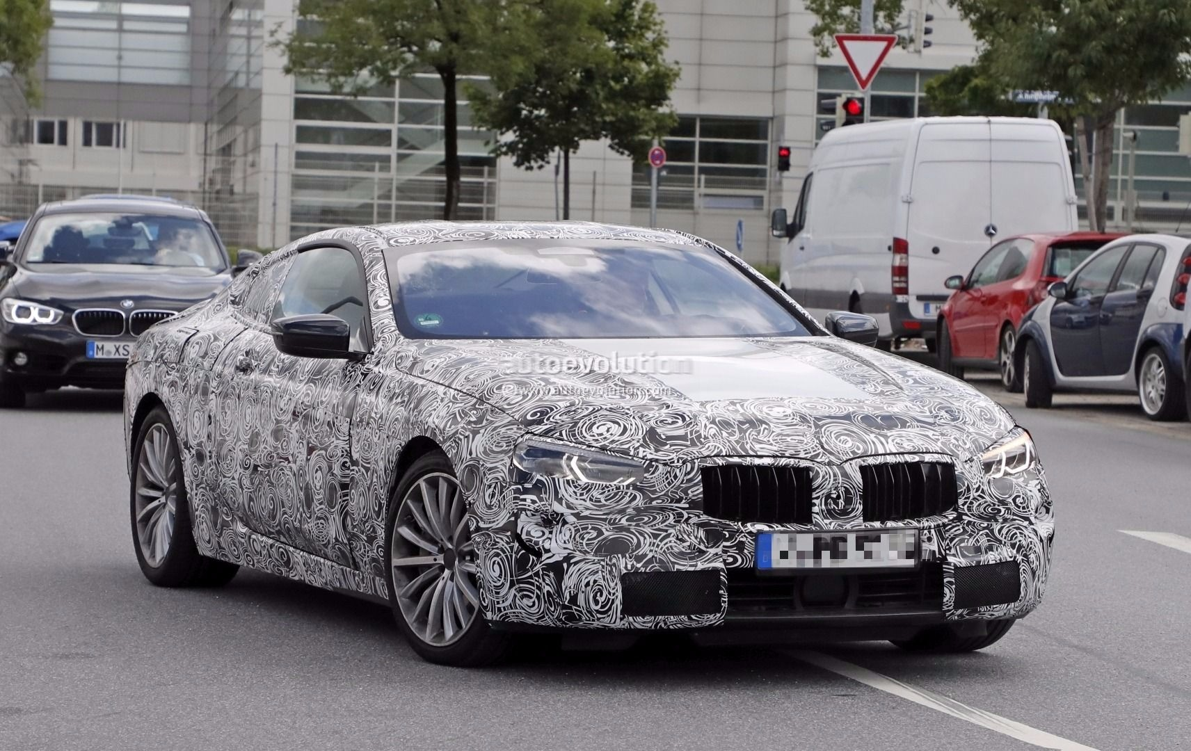 2018 bmw production schedule.  schedule spyshots 2018 bmw 8 series in bmw production schedule