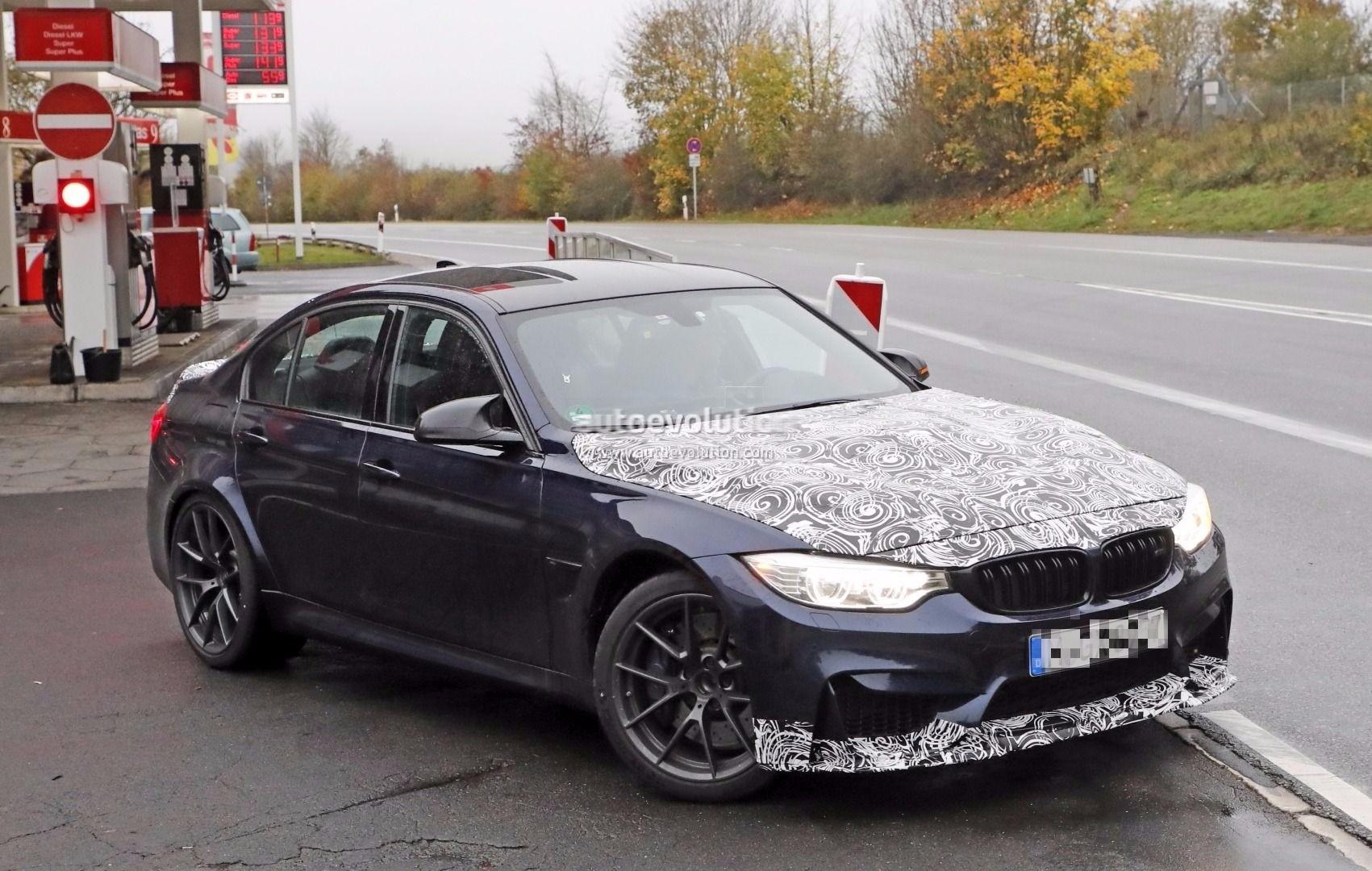 New Bmw X7 2018 >> Spyshots: 2018 BMW M3 CS Spied, Aiming for Nurburgring Sedan Record? - autoevolution