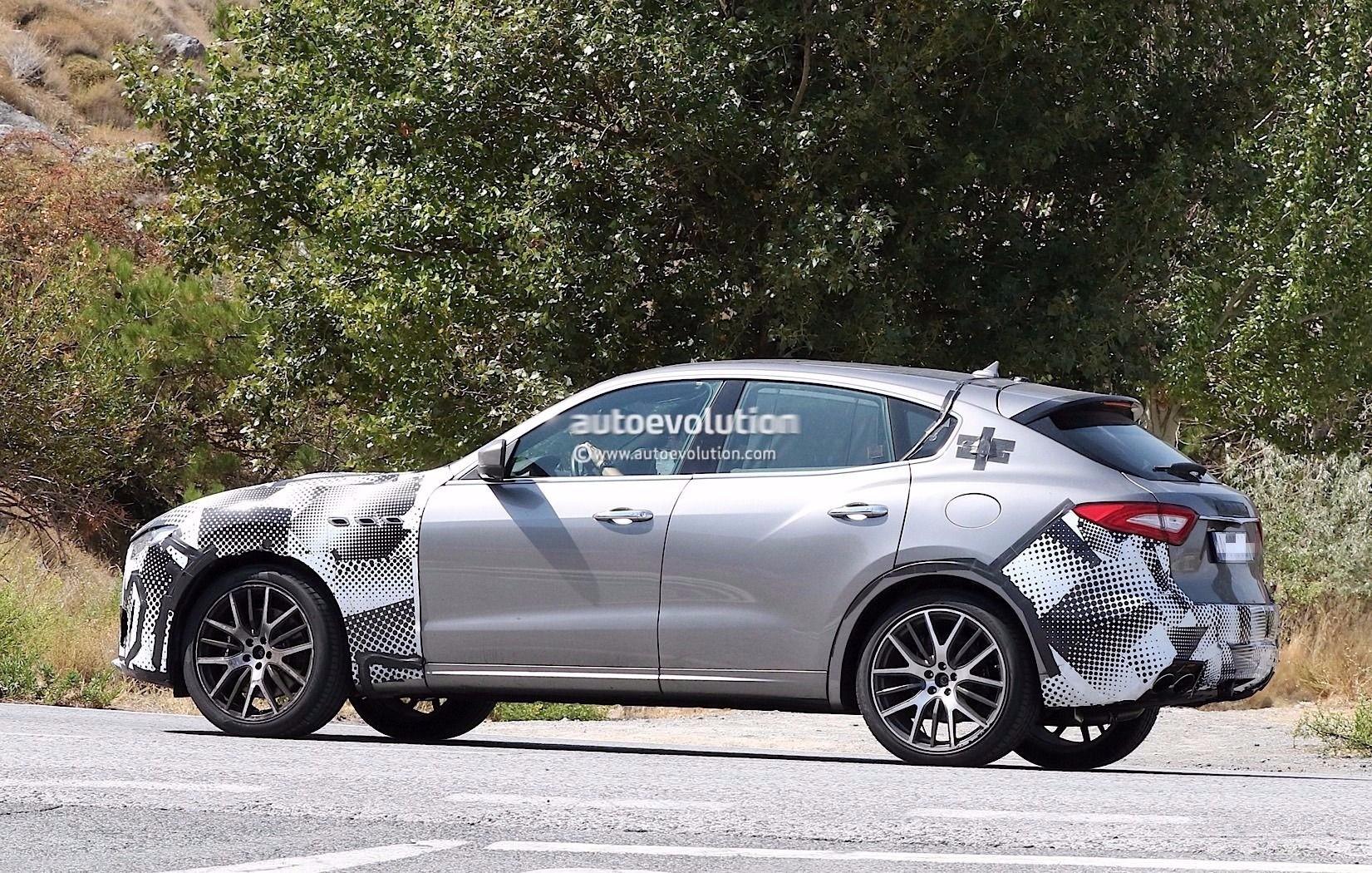 Spyshots 2018 Maserati Levante Gts With V8 Power Tests