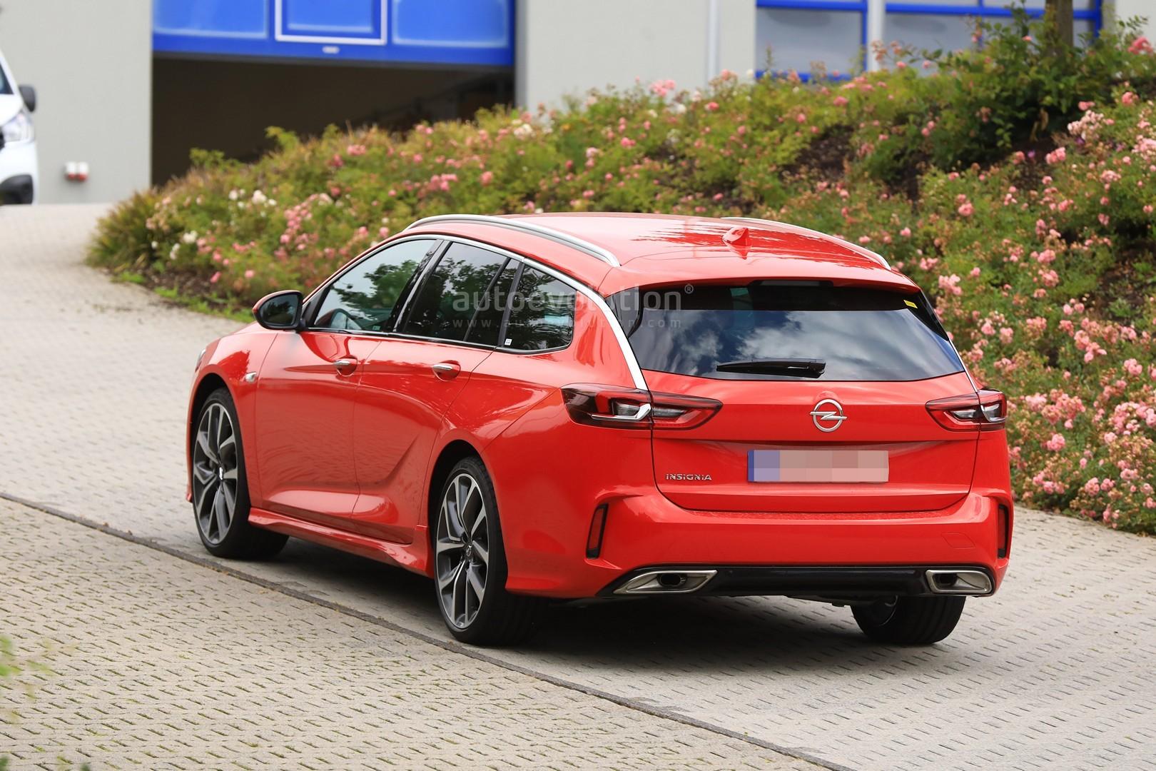 Opel Insignia Opc 2018 >> Spyshots: 2018 Opel Insignia GSi Wagon Drops Disguise - autoevolution