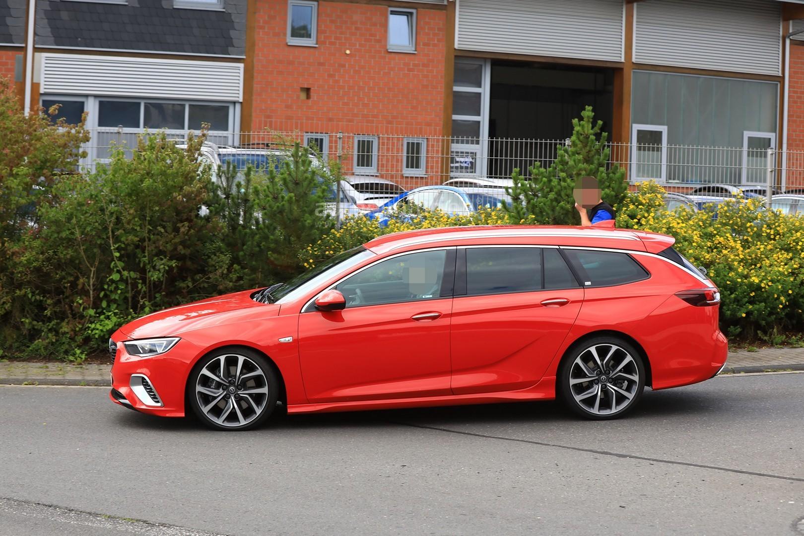 Opel Gt For Sale >> Spyshots: 2018 Opel Insignia GSi Wagon Drops Disguise - autoevolution