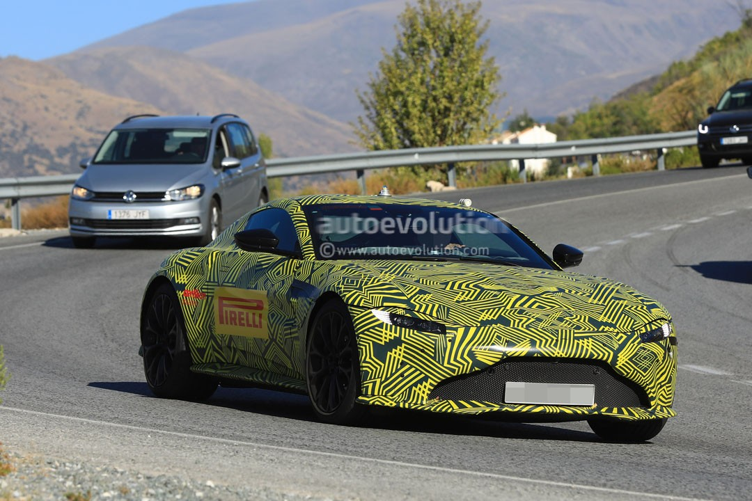 Spyshots Aston Martin V Vantage Is Like The Db We Ve Been Waiting For