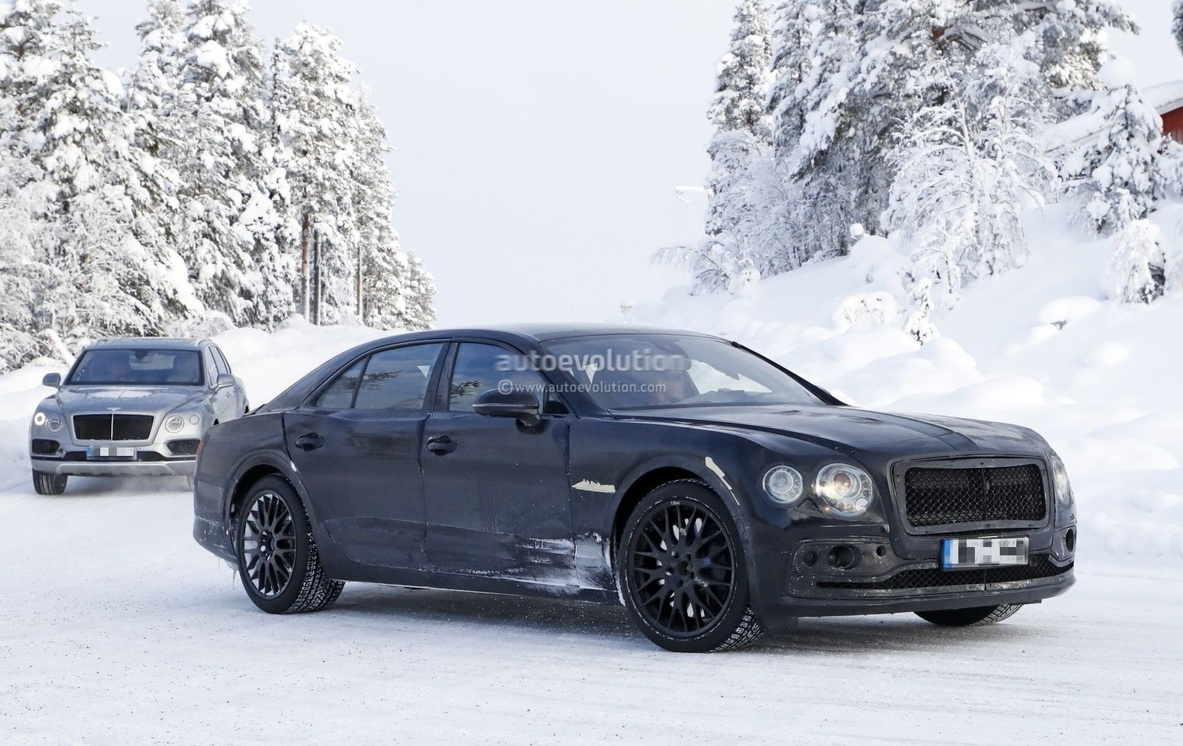 Spyshots 2019 Bentley Flying Spur Is A W12 Chariot With A