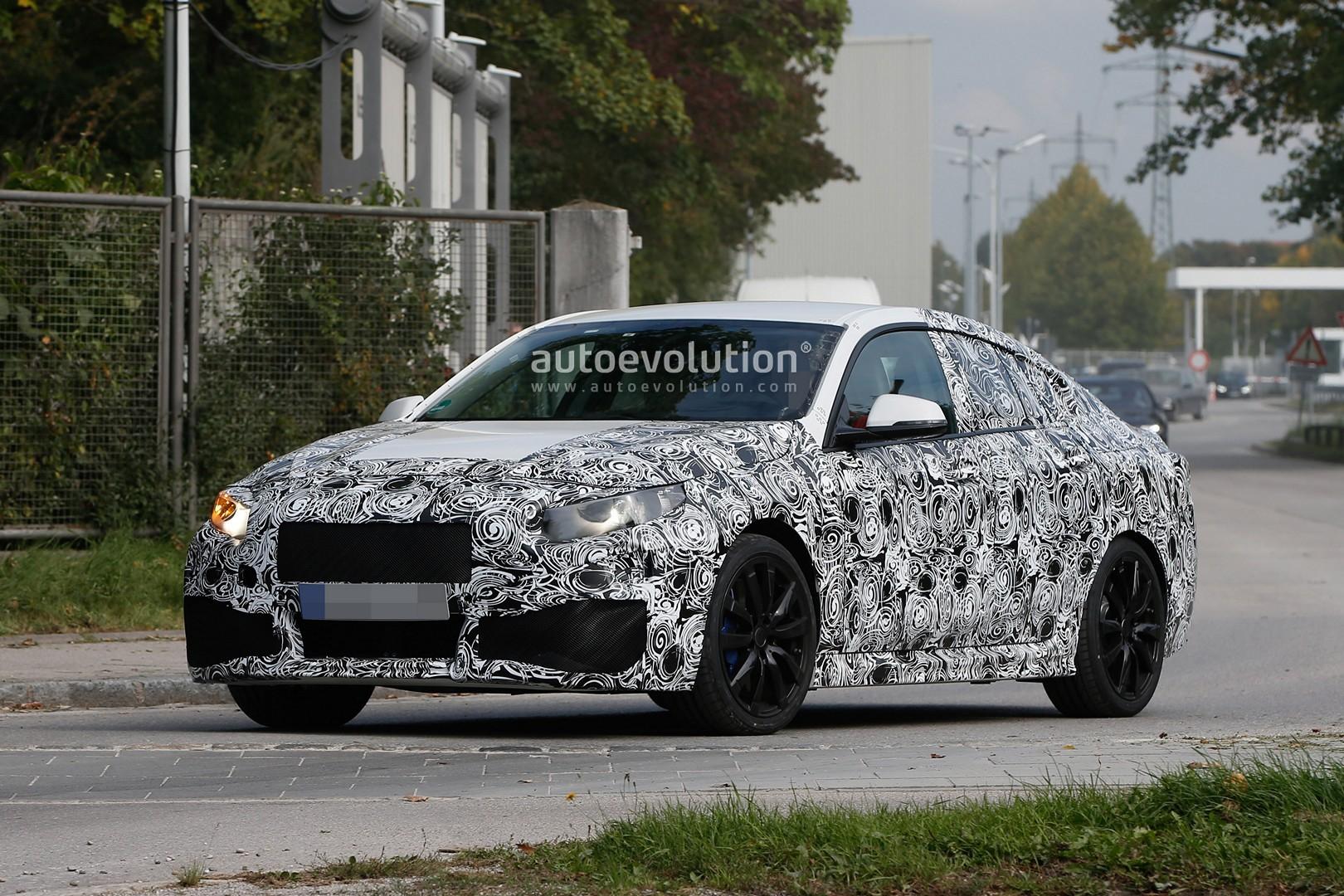 Spyshots: 2019 BMW 2 Series Gran Coupe Is a FWD Sedan ...