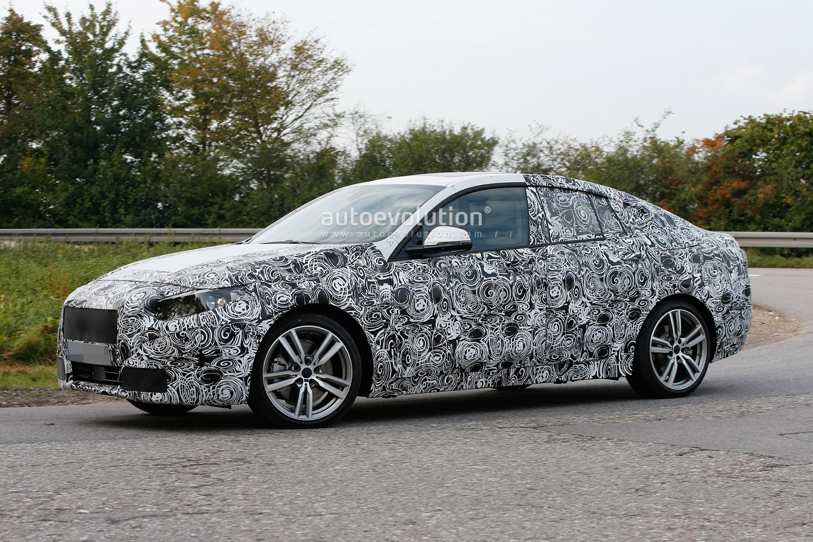 Spyshots 2019 BMW 2 Series Gran Coupe Is Actually A FWD Sedan
