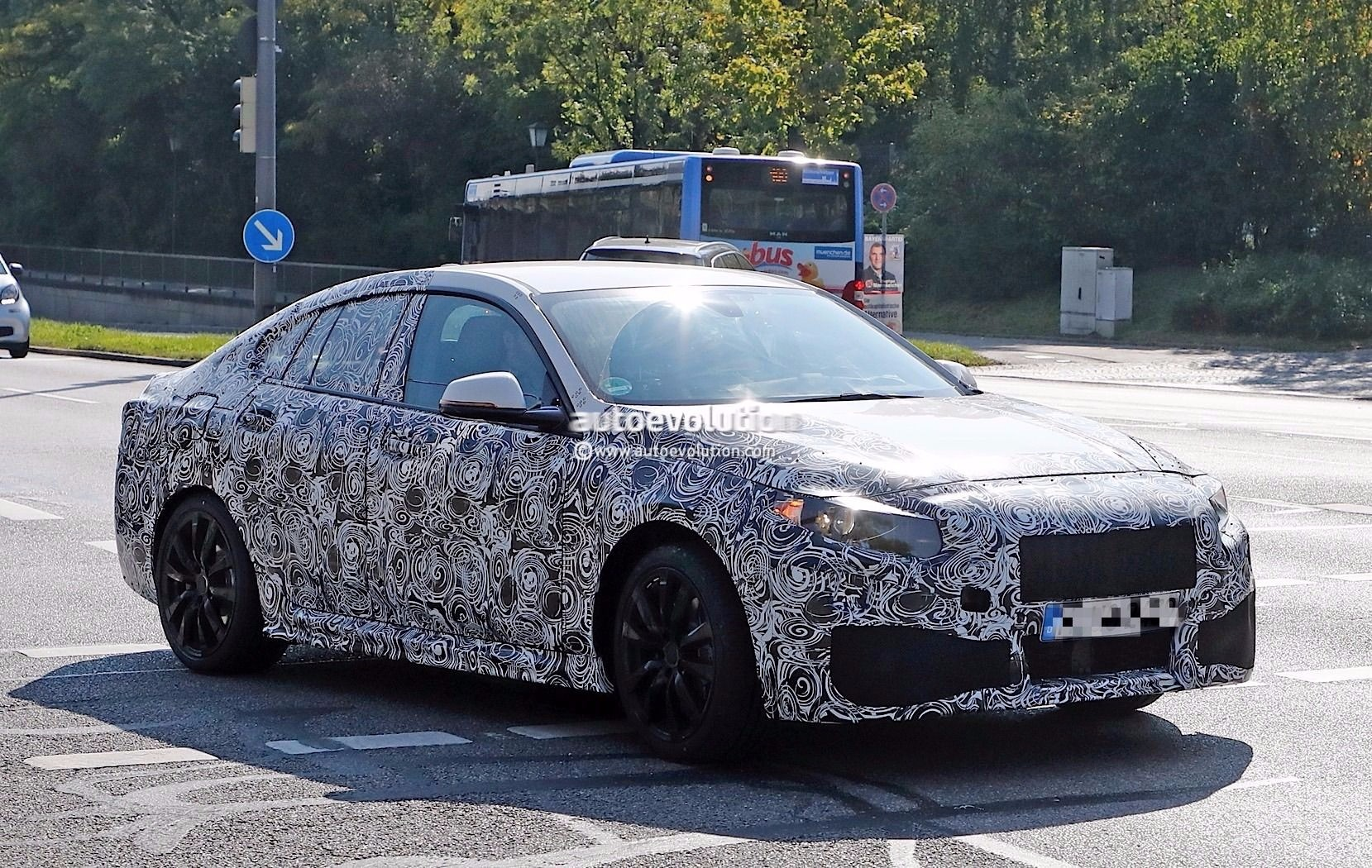 BMW Testing 2-Series Gran Coupe On Public Roads