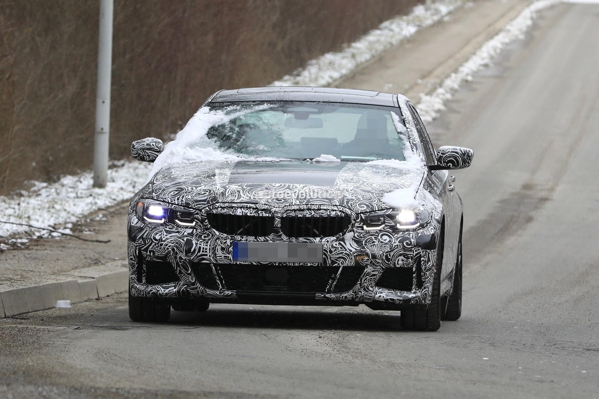 Bmw 3 Series G20 >> Spyshots: 2019 BMW 3 Series Shows Baby 5 Series Look with Sportier Details - autoevolution