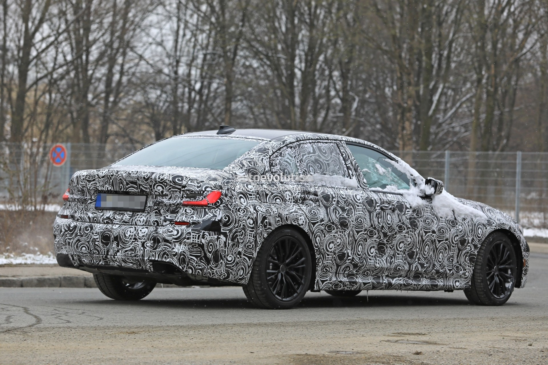 Bmw G20 3 Series >> Spyshots: 2019 BMW 3 Series Shows Baby 5 Series Look with Sportier Details - autoevolution