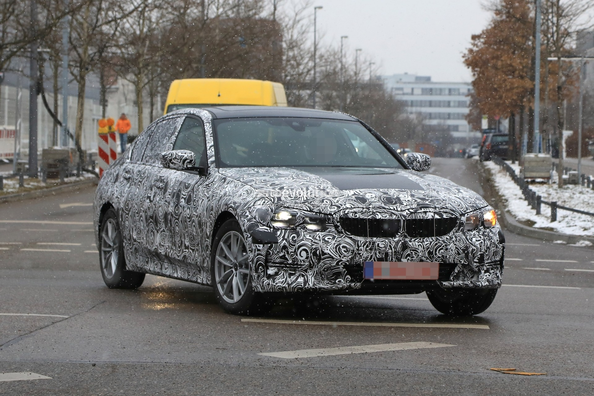 Spyshots: 2019 BMW 3 Series Shows Baby 5 Series Look with ...