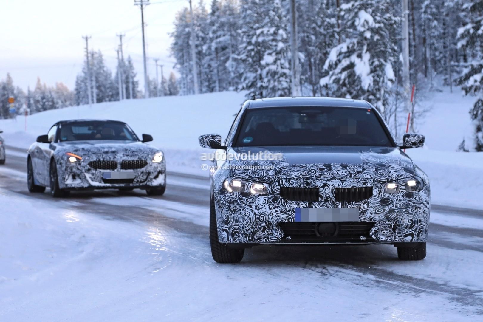 Spyshots: 2019 BMW 3 Series Shows Production Elements ...