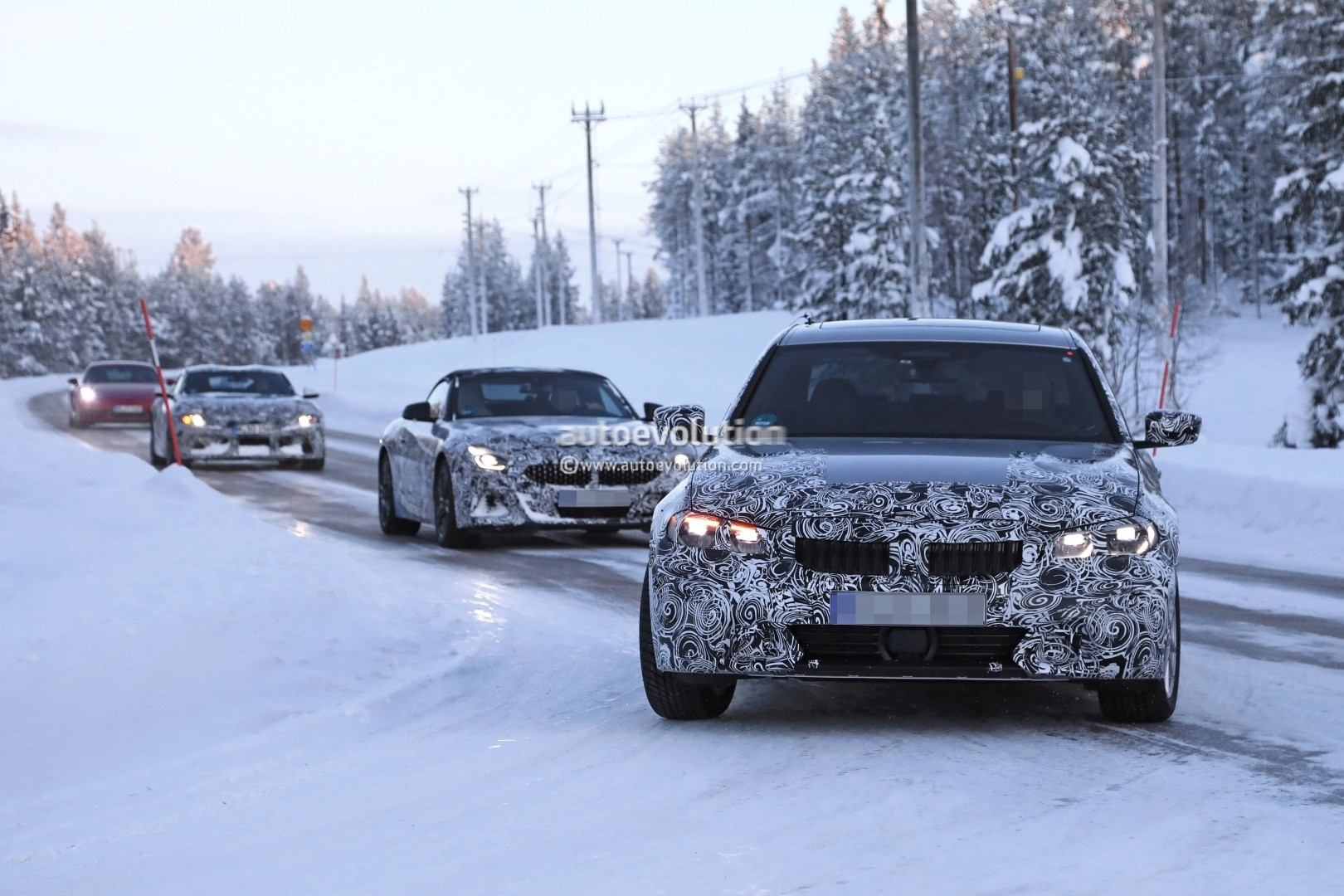 Spyshots 2019 Bmw 3 Series Shows Production Elements Almost Ready To Debut Autoevolution