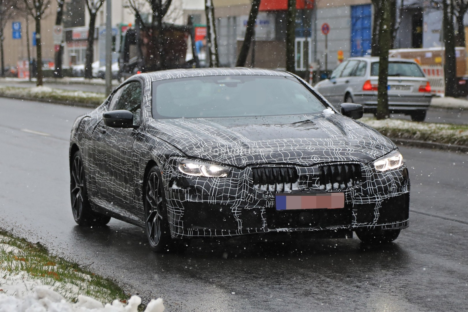 Spyshots 2019 Bmw 8 Series Shows More Skin Prototype Has