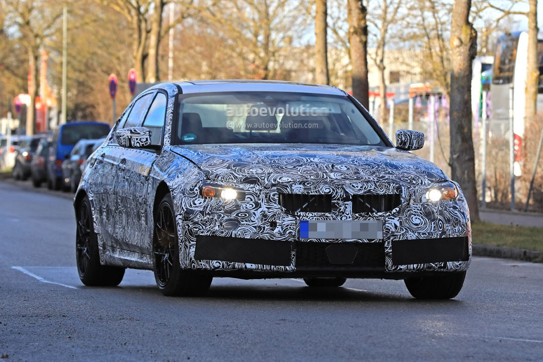 Spyshots 2019 Bmw M3 Makes Testing Debut With Trademark Double Twin