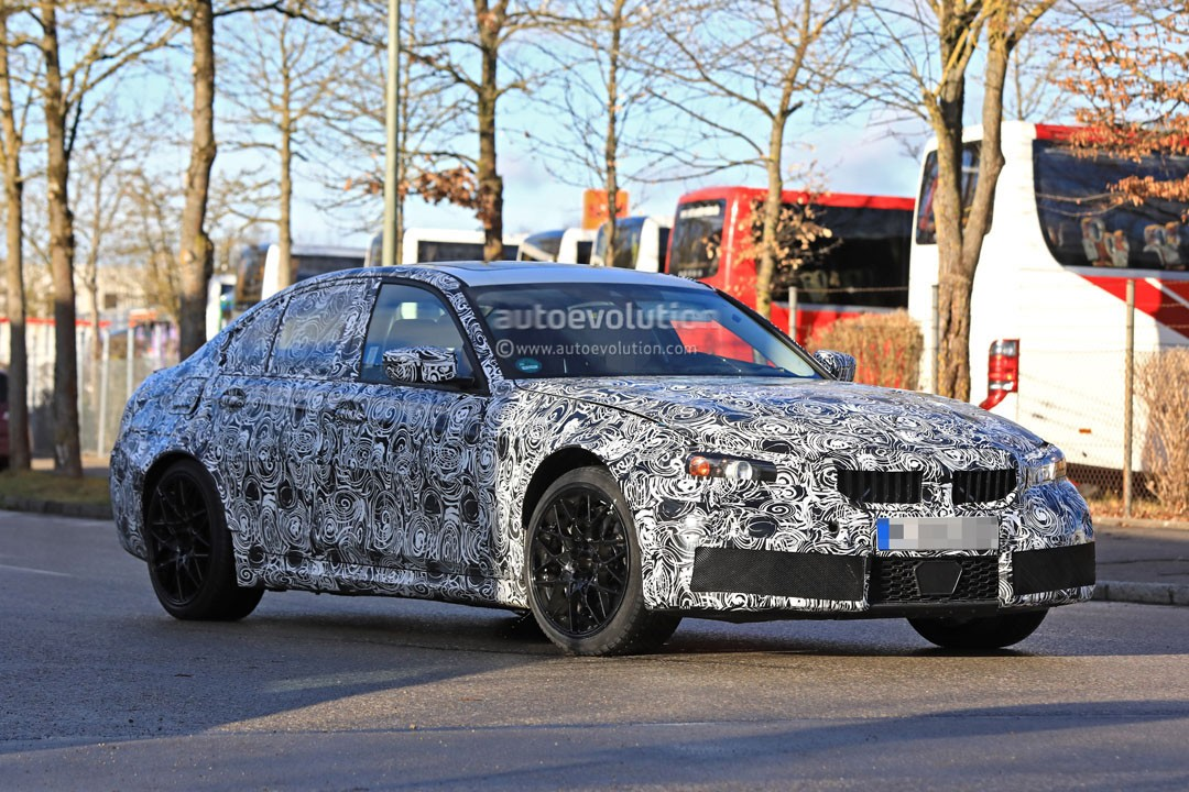 Spyshots 2019 Bmw M3 Makes Testing Debut With Trademark Double Twin Exhaust Autoevolution