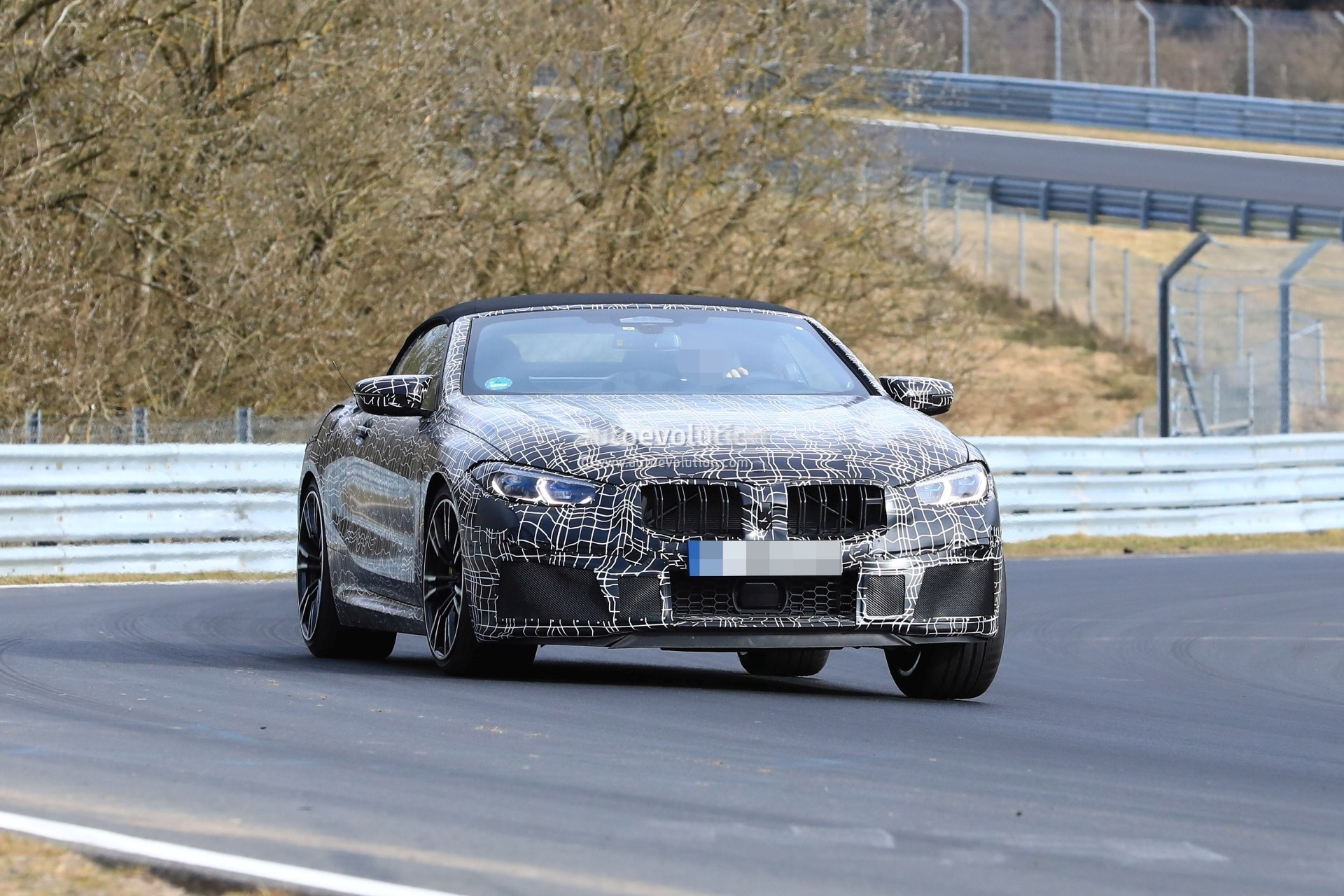 Spyshots 2019 Bmw M8 Coupe And Cabriolet Nurburgring
