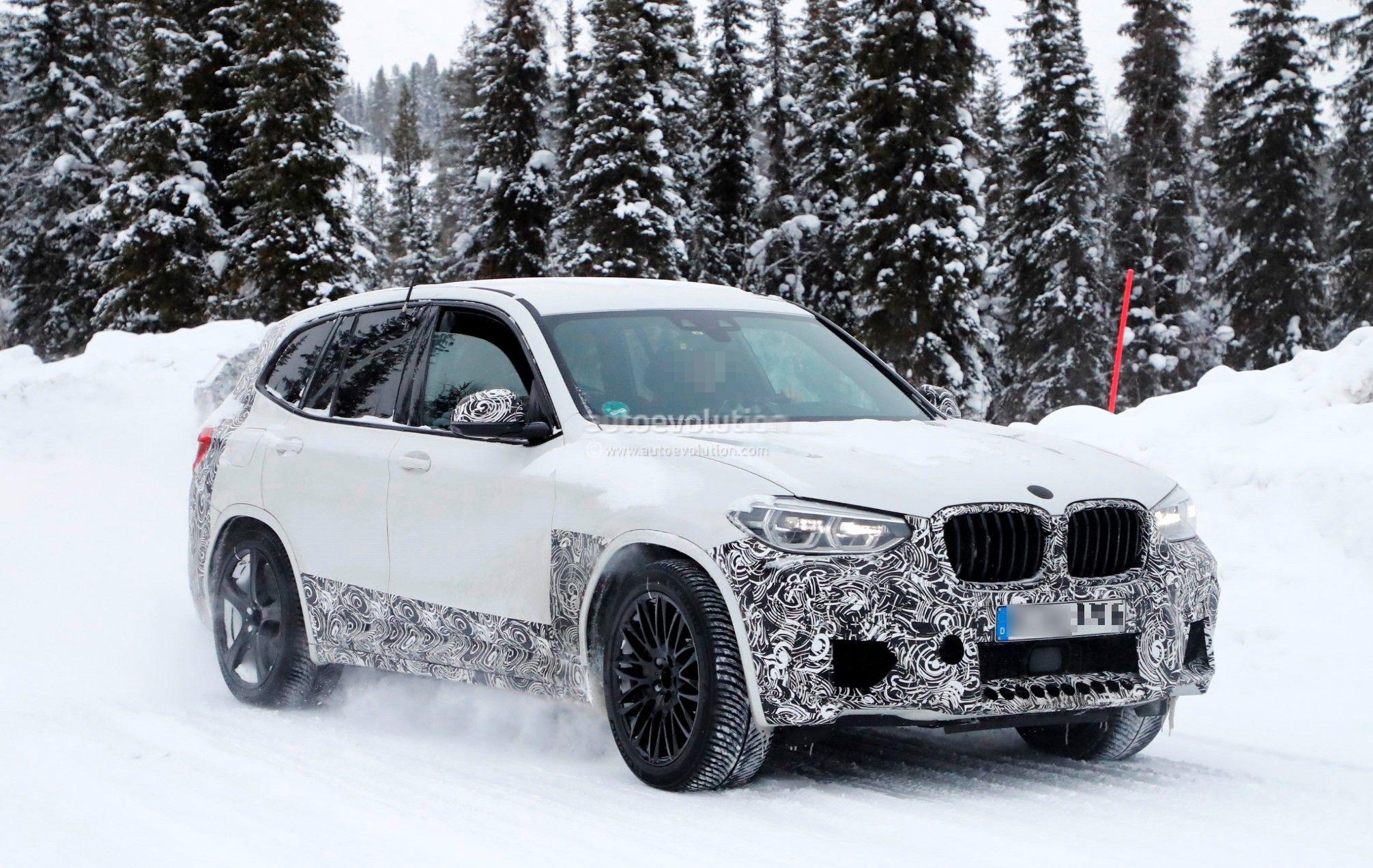 2019 BMW X3 M: V-6 Power, Design >> Spyshots 2019 Bmw X3 M Interior Reveals M5 Steering Wheel And Gear