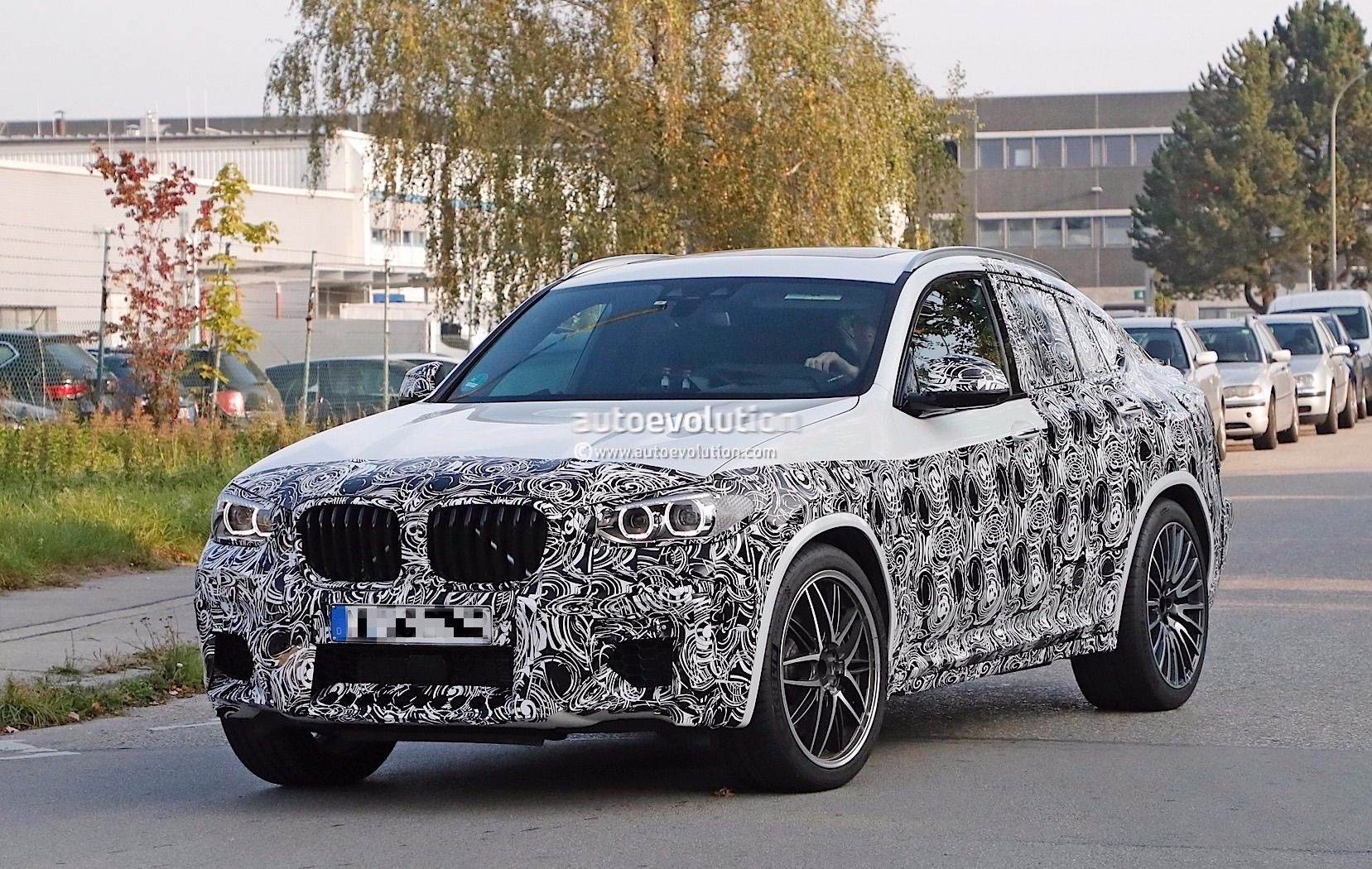 Spyshots 2019 Bmw X4 M Gets A New Twin Turbo Inline Six