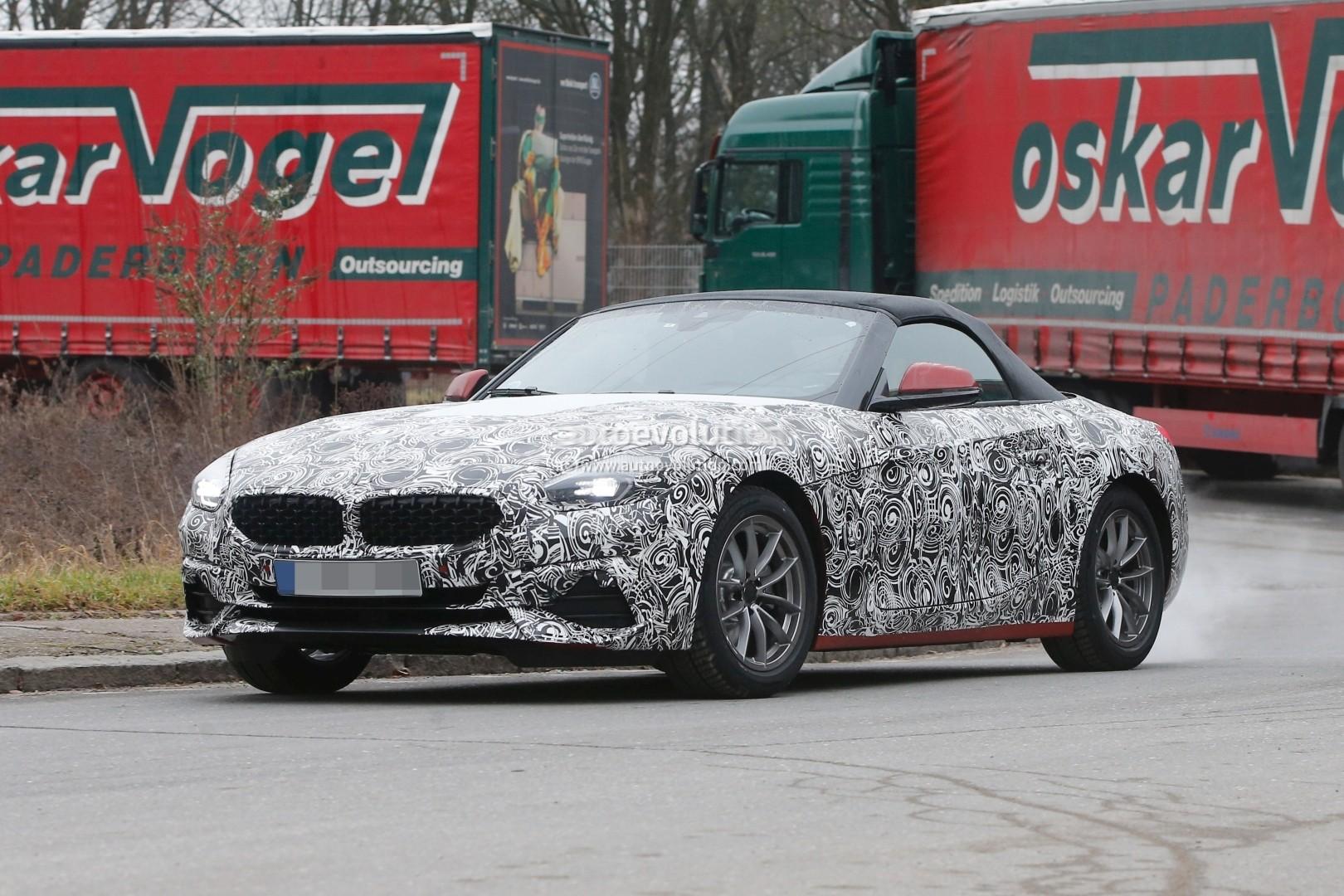 2018 - [BMW] Z4 (G29) - Page 4 Spyshots-2019-bmw-z4_3